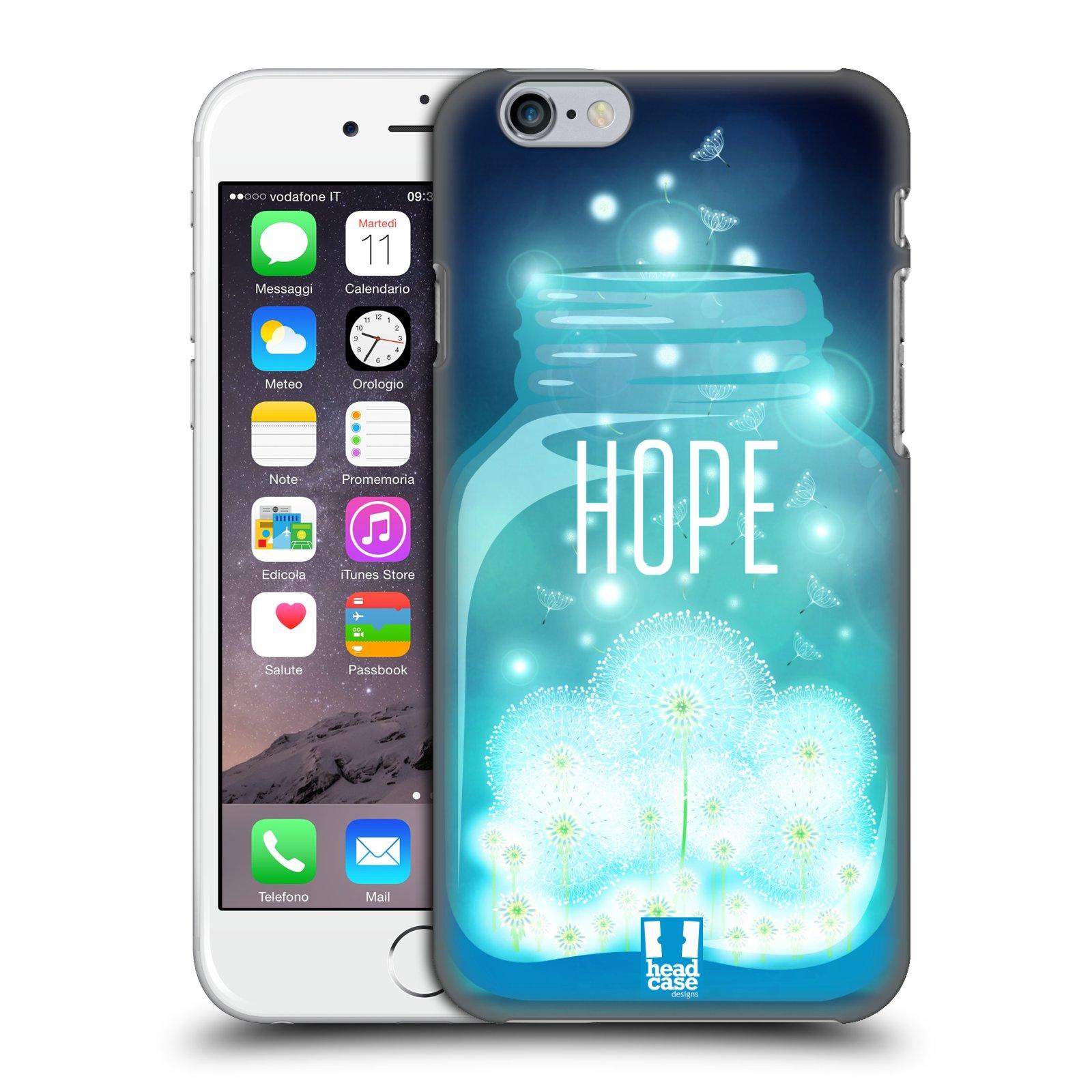 Plastové pouzdro na mobil Apple iPhone 6 a 6S HEAD CASE SKLENICE HOPE