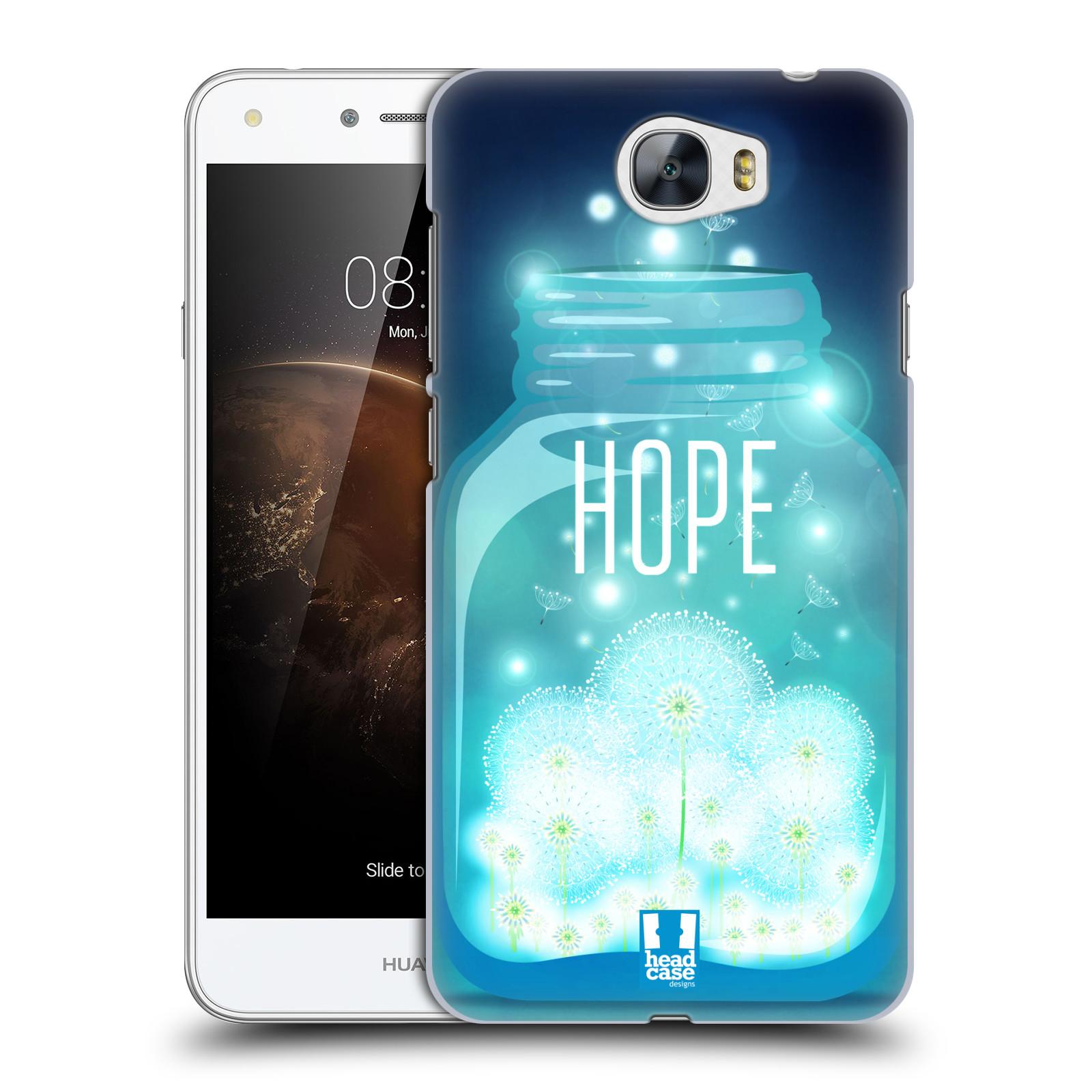 Plastové pouzdro na mobil Huawei Y5 II HEAD CASE SKLENICE HOPE