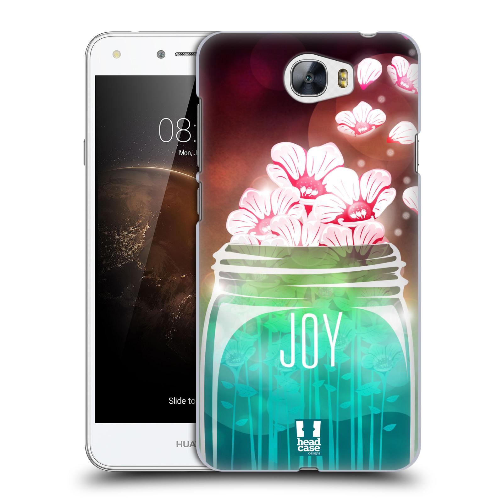 Plastové pouzdro na mobil Huawei Y5 II HEAD CASE SKLENICE JOY
