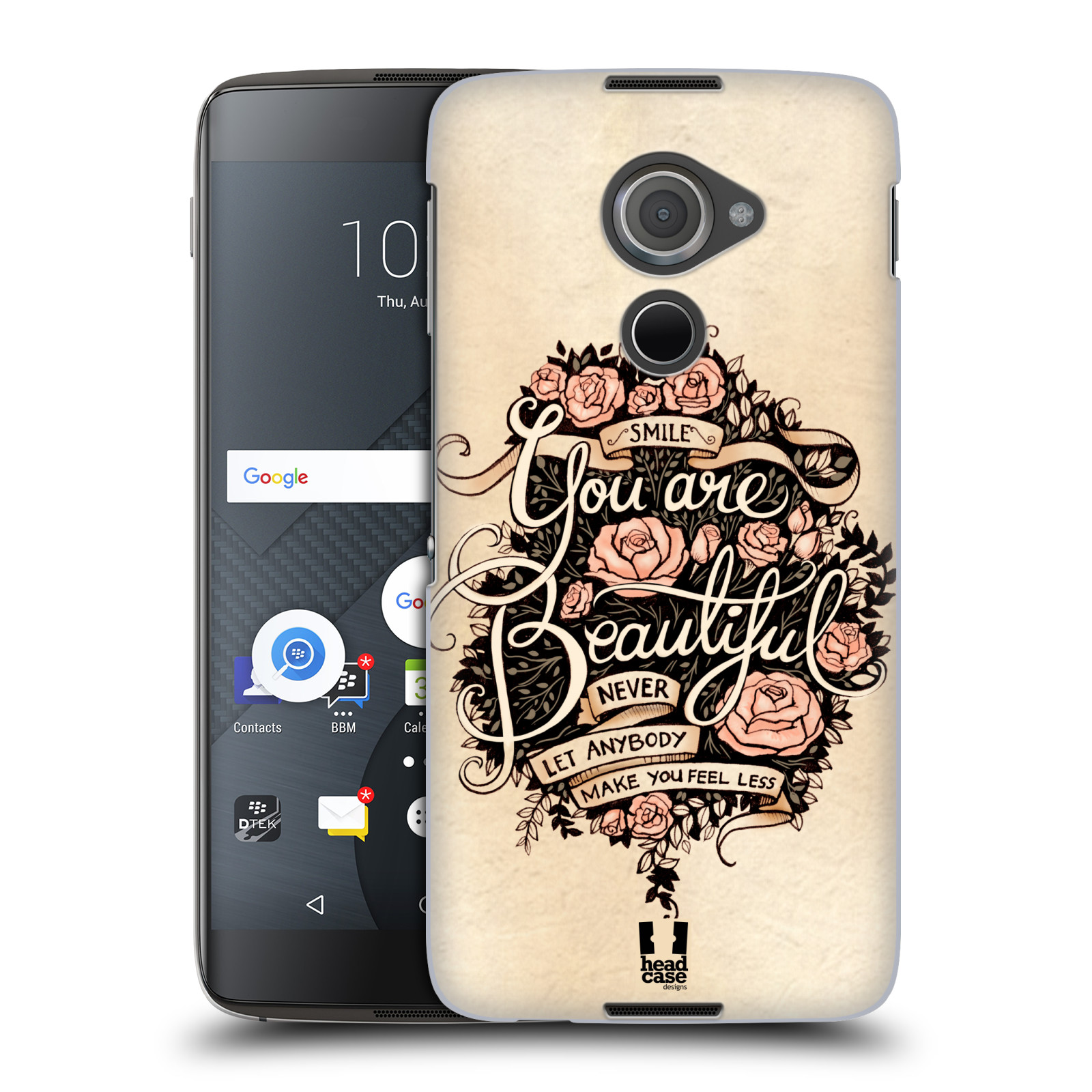 Plastové pouzdro na mobil Blackberry DTEK60 (Argon) - Head Case BEAUTIFUL (Plastový kryt či obal na mobilní telefon Blackberry DTEK60 (Argon))