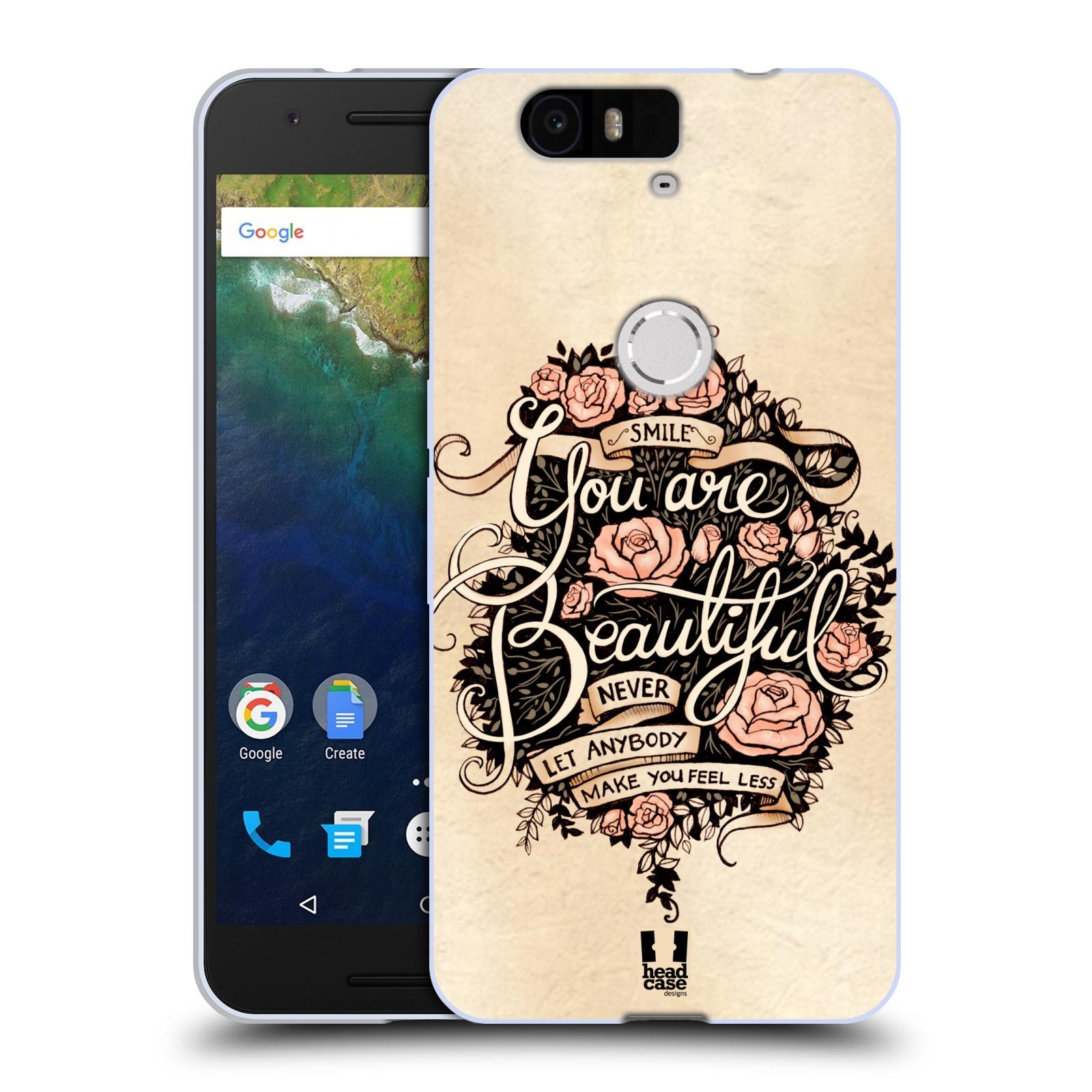 Silikonové pouzdro na mobil Huawei Nexus 6P HEAD CASE BEAUTIFUL (Silikonový kryt či obal na mobilní telefon Huawei Nexus 6P)