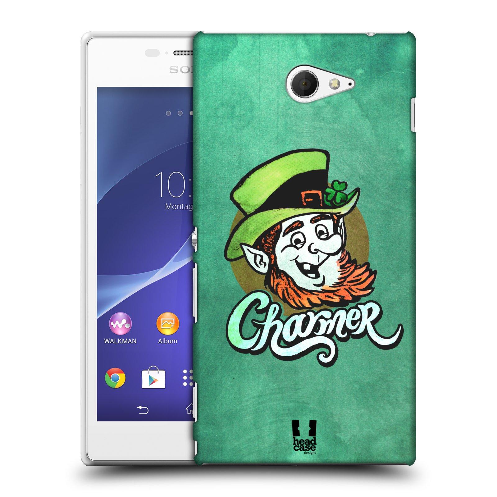 Plastové pouzdro na mobil Sony Xperia M2 D2303 HEAD CASE CHARMER (Kryt či obal na mobilní telefon Sony Xperia M2 )