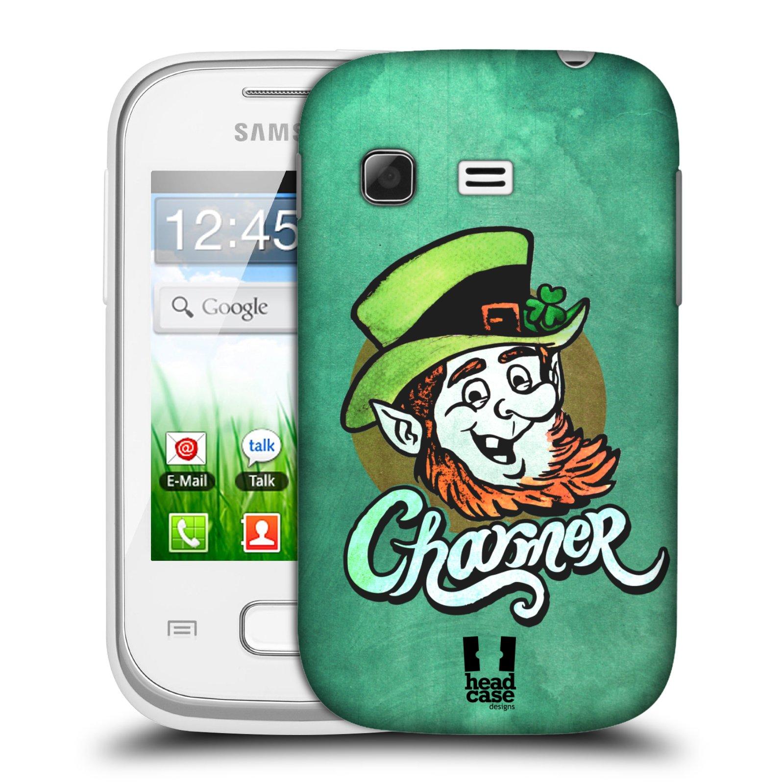Plastové pouzdro na mobil Samsung Galaxy Pocket HEAD CASE CHARMER (Kryt či obal na mobilní telefon Samsung Galaxy Pocket GT-S5300)