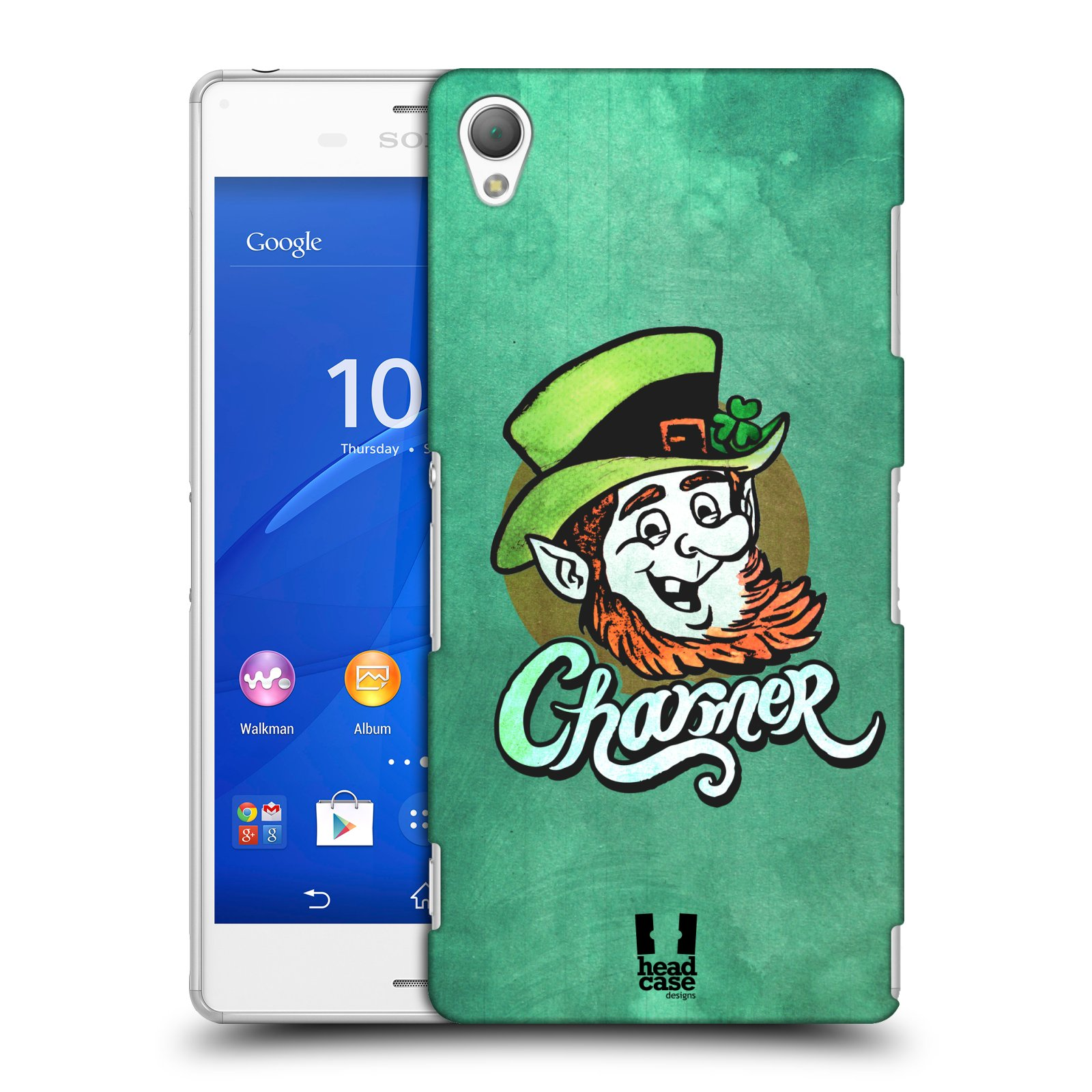 Plastové pouzdro na mobil Sony Xperia Z3 D6603 HEAD CASE CHARMER (Kryt či obal na mobilní telefon Sony Xperia Z3 )