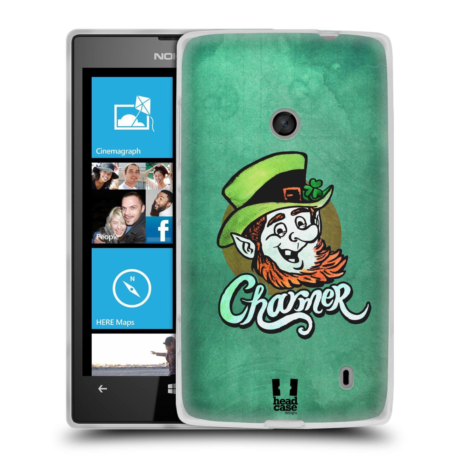 Silikonové pouzdro na mobil Nokia Lumia 520 HEAD CASE CHARMER (Silikonový Kryt či obal na mobilní telefon Nokia Lumia 520)