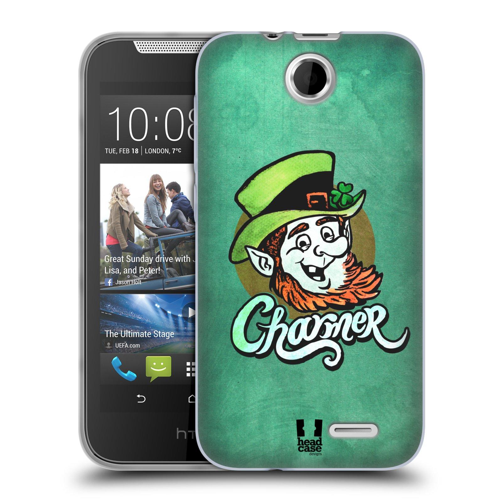 Silikonové pouzdro na mobil HTC Desire 310 HEAD CASE CHARMER (Silikonový kryt či obal na mobilní telefon HTC Desire 310)
