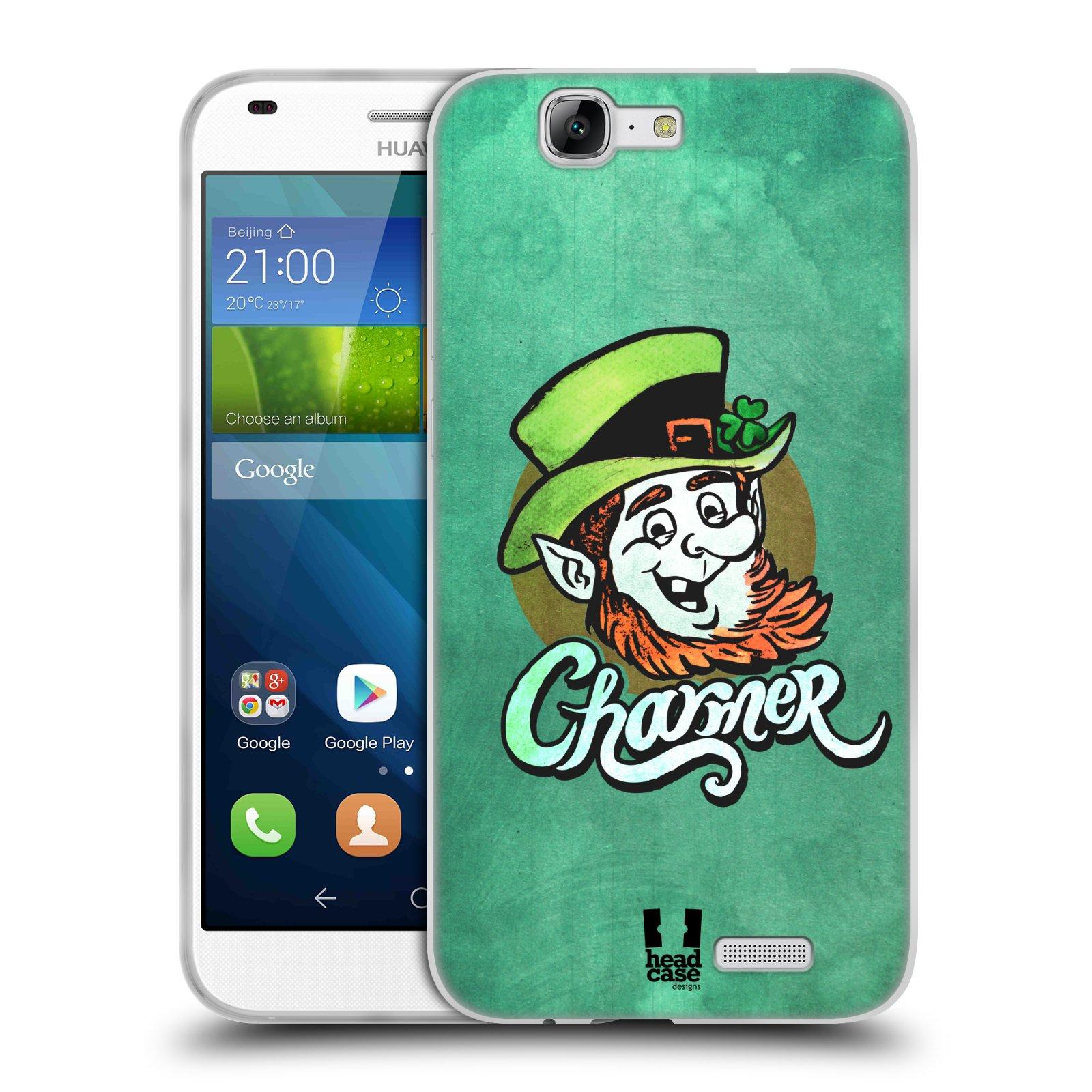 Silikonové pouzdro na mobil Huawei Ascend G7 HEAD CASE CHARMER (Silikonový kryt či obal na mobilní telefon Huawei Ascend G7)
