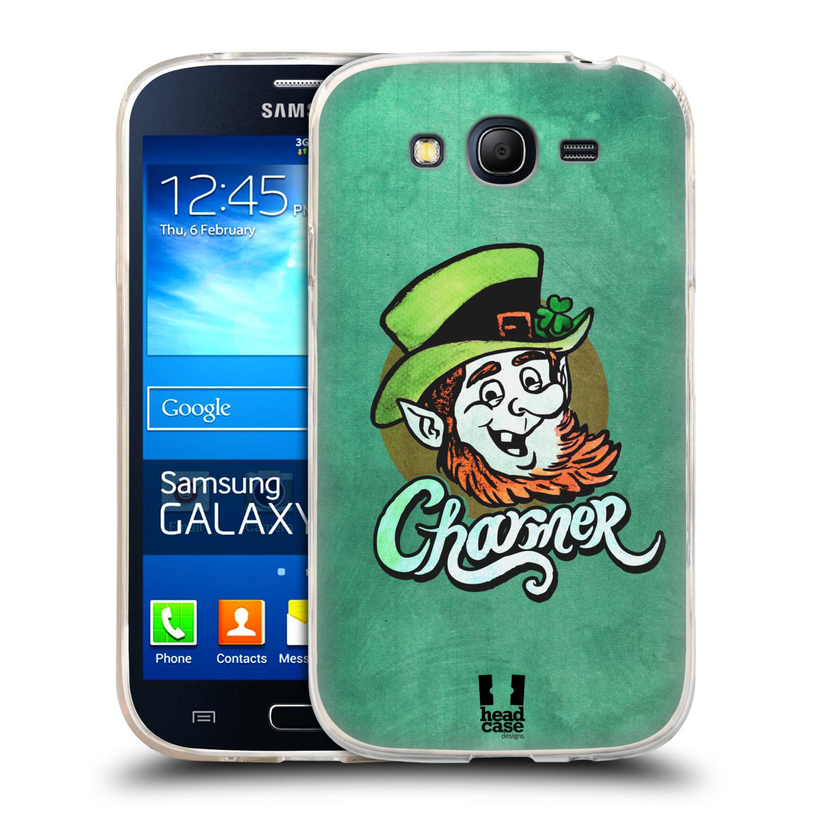 Silikonové pouzdro na mobil Samsung Galaxy Grand Neo Plus HEAD CASE CHARMER (Silikonový kryt či obal na mobilní telefon Samsung Galaxy Grand Neo Plus Duos GT-I9060i)