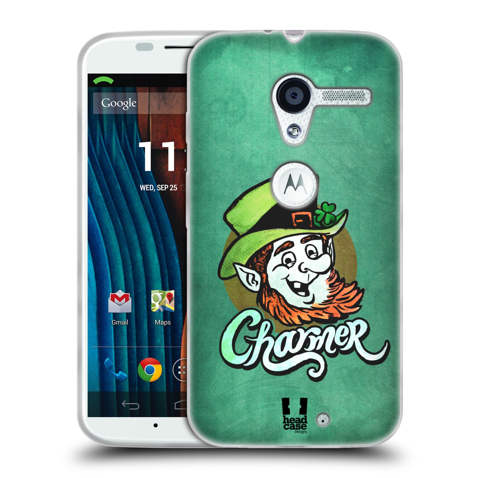 Silikonové pouzdro na mobil Motorola Moto X HEAD CASE CHARMER (Silikonový kryt či obal na mobilní telefon Motorola Moto X)