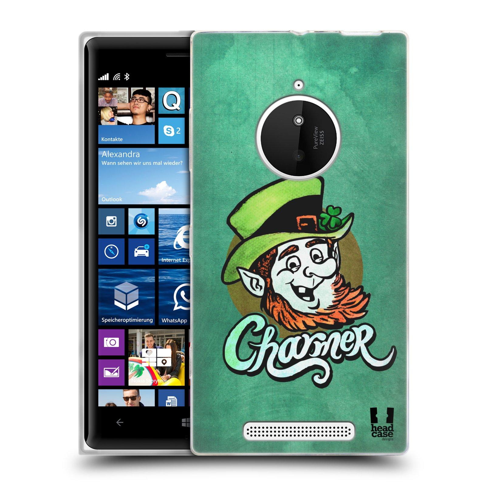 Silikonové pouzdro na mobil Nokia Lumia 830 HEAD CASE CHARMER (Silikonový kryt či obal na mobilní telefon Nokia Lumia 830)