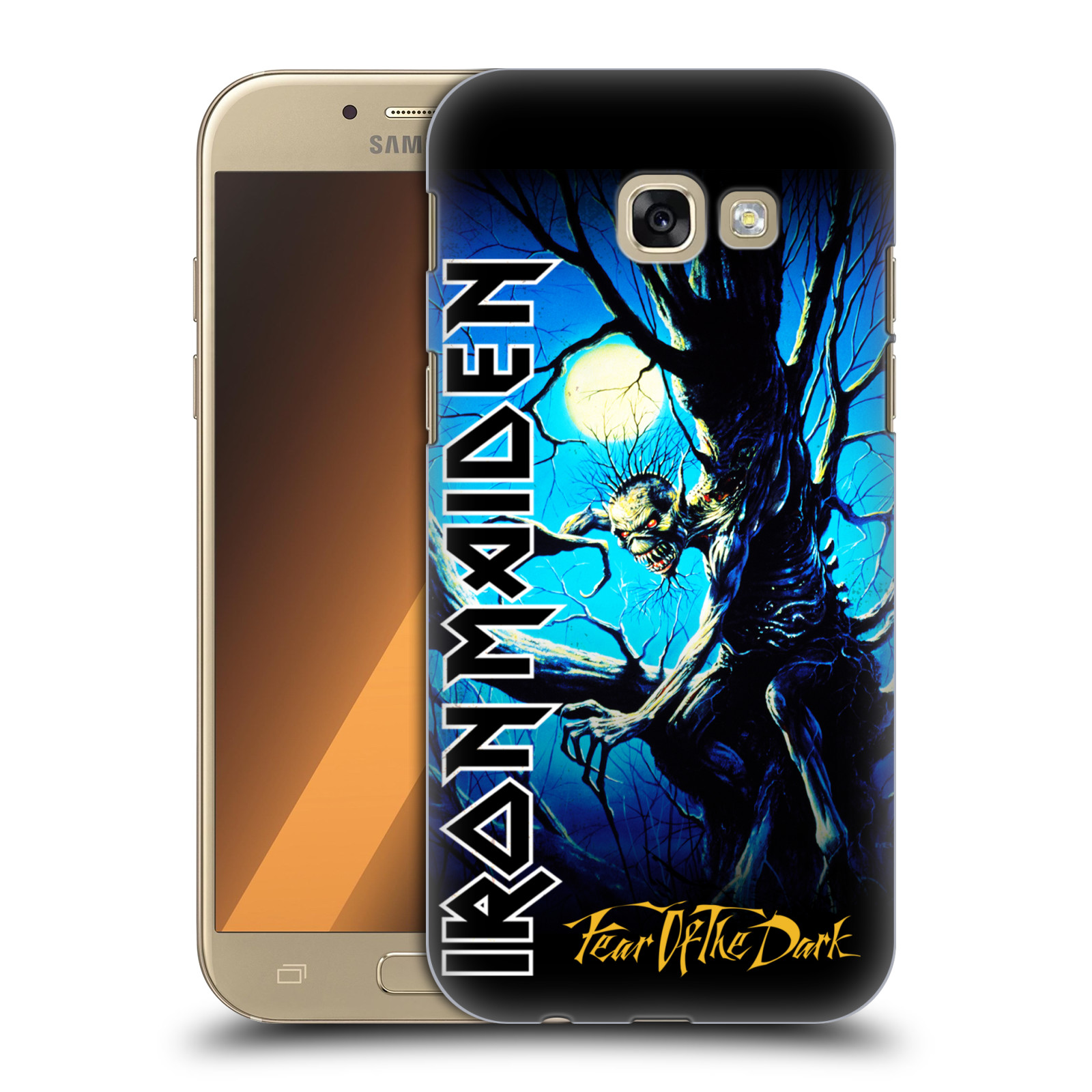 Plastové pouzdro na mobil Samsung Galaxy A5 (2017) HEAD CASE - Iron Maiden - Fear Of The Dark
