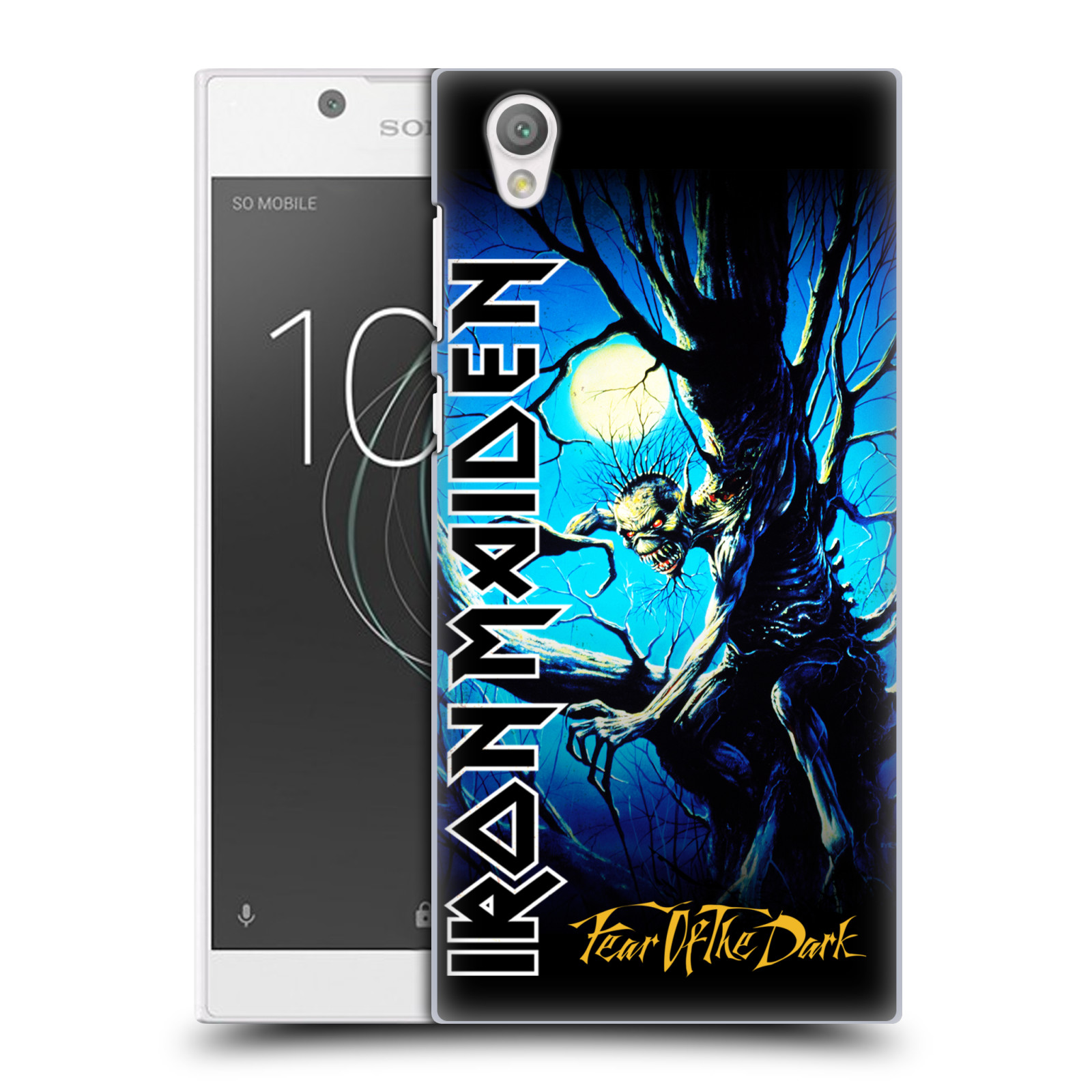 Plastové pouzdro na mobil Sony Xperia L1 - Head Case - Iron Maiden - Fear Of The Dark