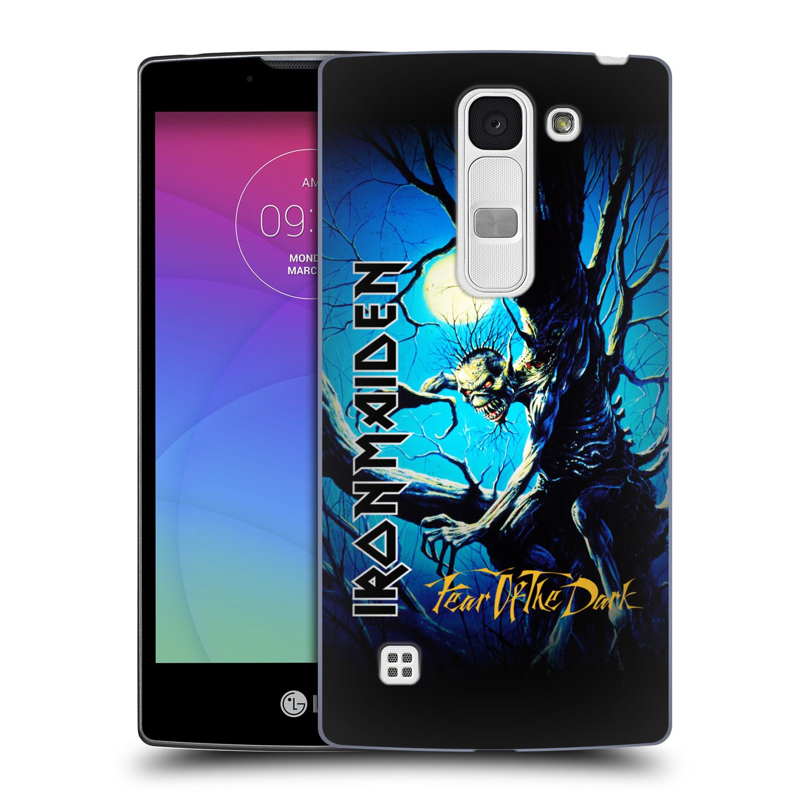 Plastové pouzdro na mobil LG Spirit LTE HEAD CASE - Iron Maiden - Fear Of The Dark (Plastový kryt či obal na mobilní telefon s licencovaným motivem Iron Maiden LG Spirit H420 a LG Spirit LTE H440N)