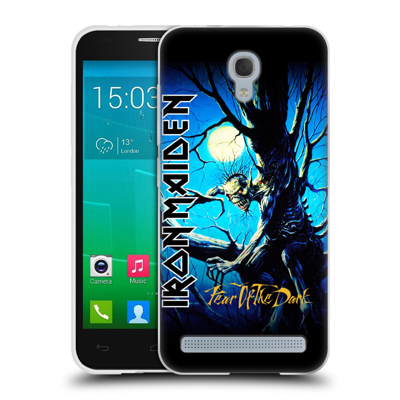 Silikonové pouzdro na mobil Alcatel One Touch Idol 2 Mini S 6036Y HEAD CASE - Iron Maiden - Fear Of The Dark (Silikonový kryt či obal na mobilní telefon s licencovaným motivem Iron Maiden Alcatel Idol 2 Mini S OT-6036Y)