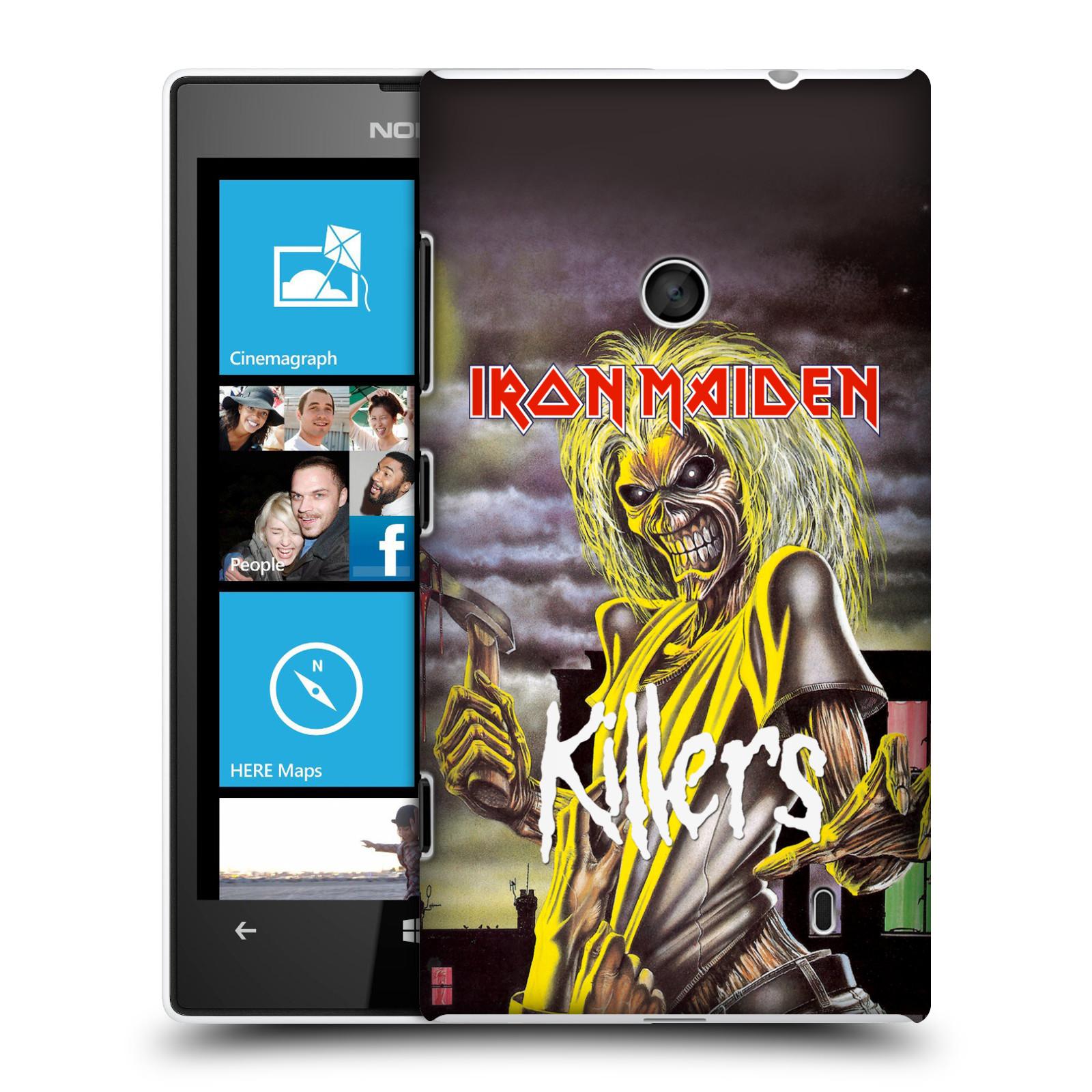 Plastové pouzdro na mobil Nokia Lumia 520 HEAD CASE - Iron Maiden - Killers