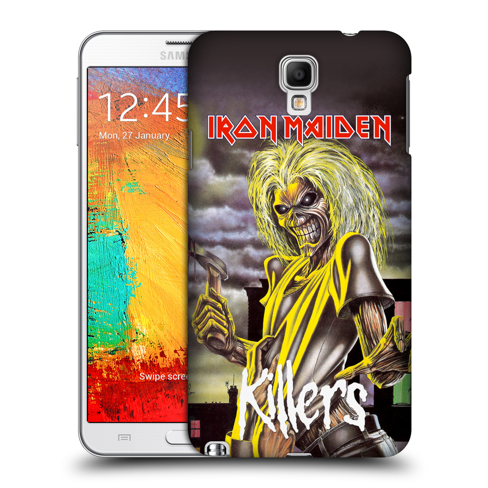 Plastové pouzdro na mobil Samsung Galaxy Note 3 Neo HEAD CASE - Iron Maiden - Killers
