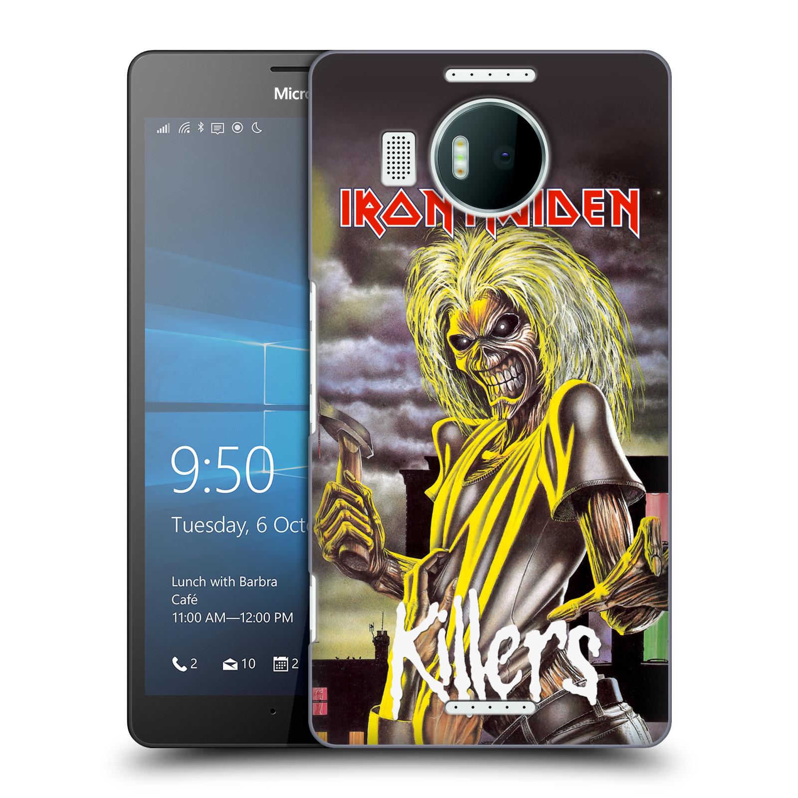 Plastové pouzdro na mobil Microsoft Lumia 950 XL HEAD CASE - Iron Maiden - Killers