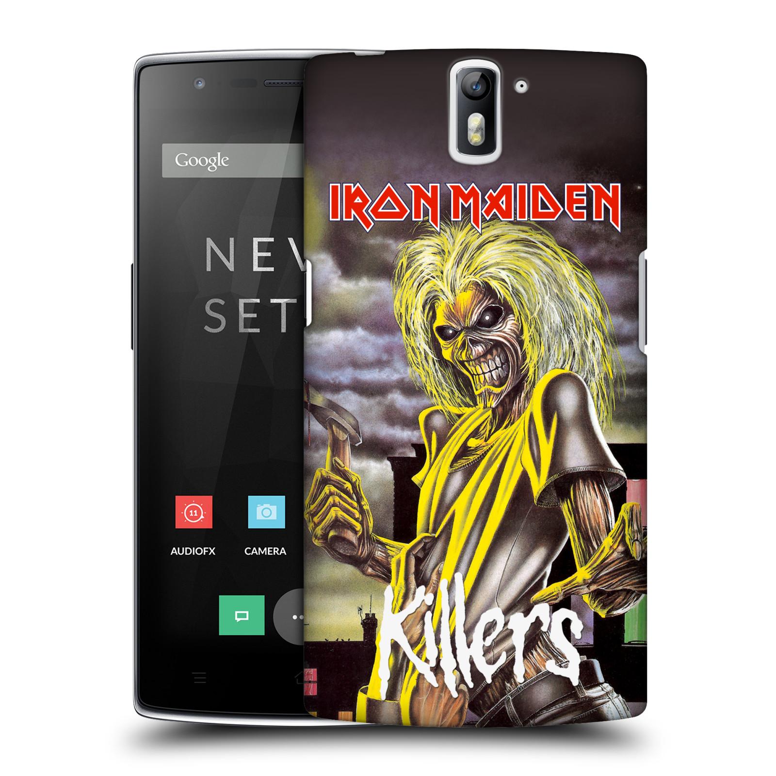 Plastové pouzdro na mobil OnePlus One HEAD CASE - Iron Maiden - Killers