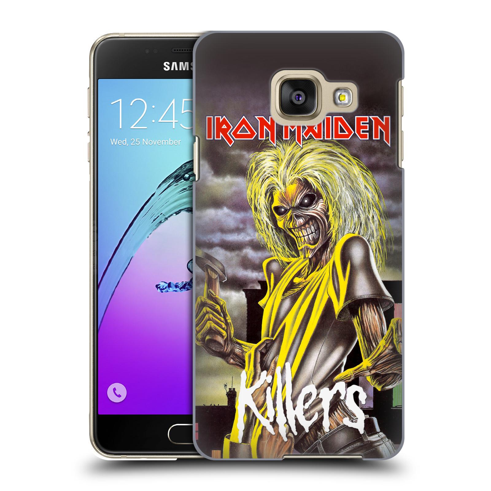 Plastové pouzdro na mobil Samsung Galaxy A3 (2016) HEAD CASE - Iron Maiden - Killers