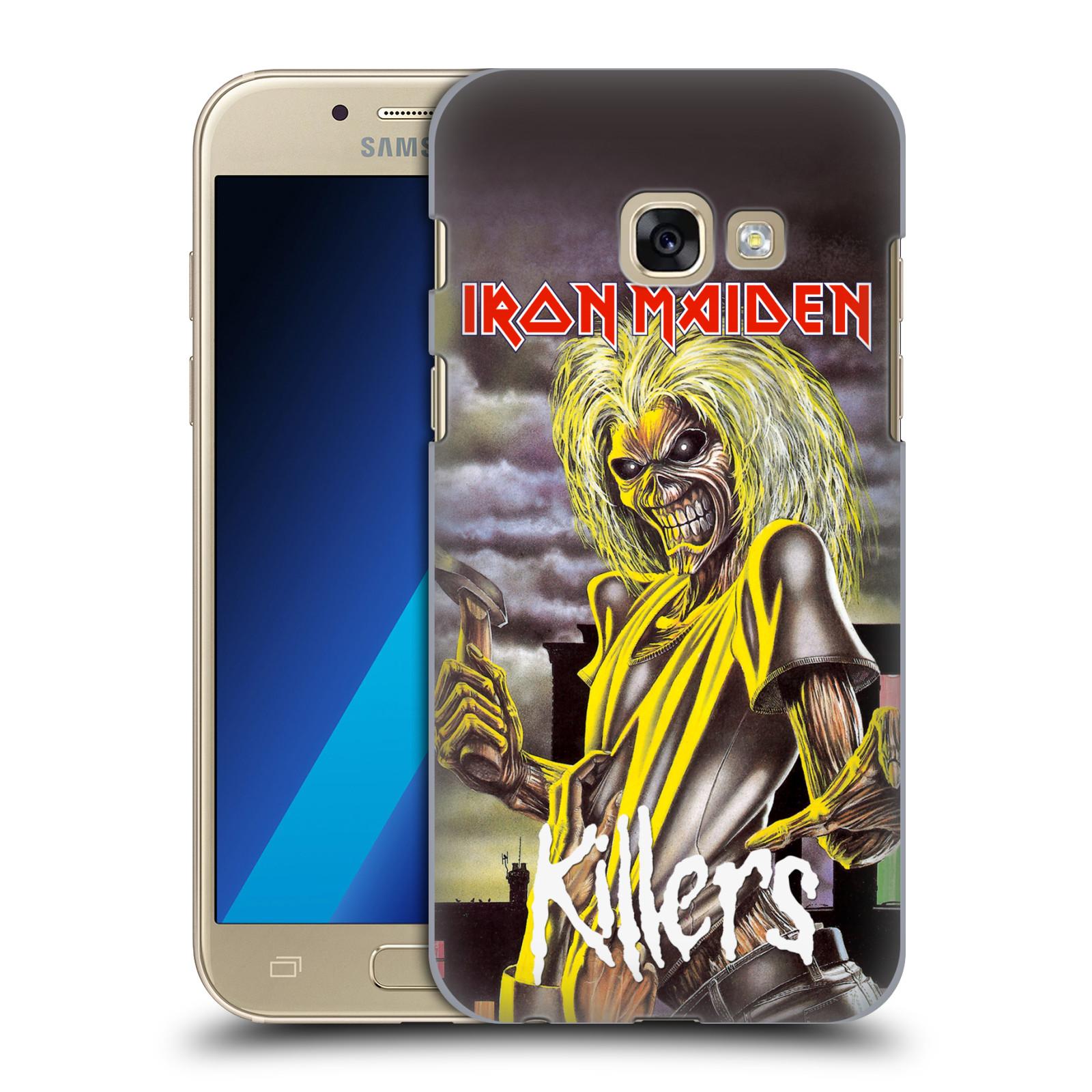 Plastové pouzdro na mobil Samsung Galaxy A3 (2017) HEAD CASE - Iron Maiden - Killers