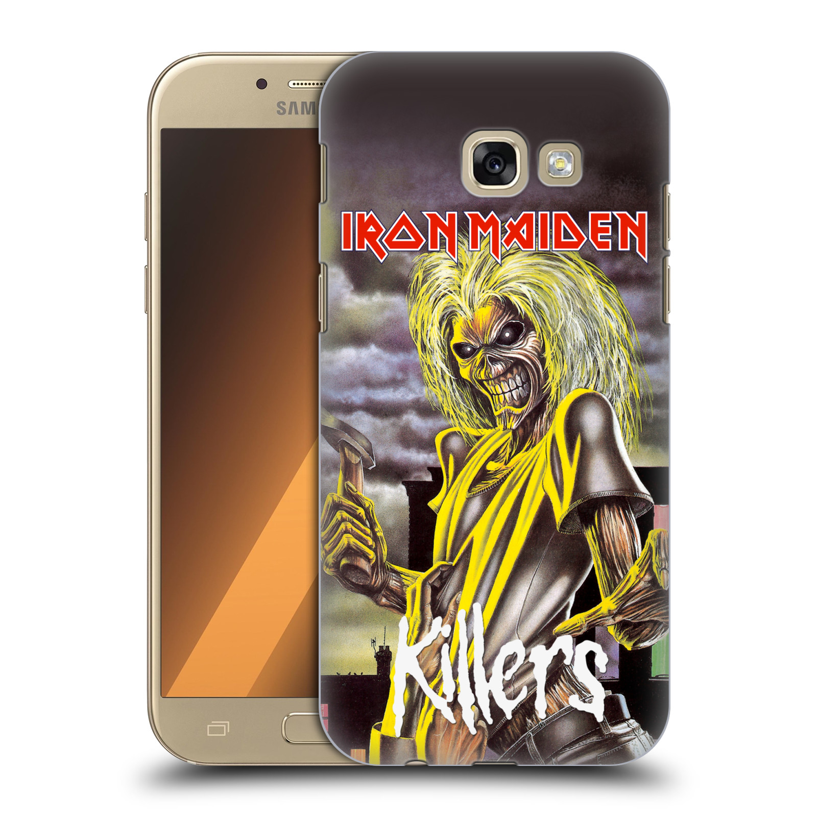 Plastové pouzdro na mobil Samsung Galaxy A5 (2017) HEAD CASE - Iron Maiden - Killers