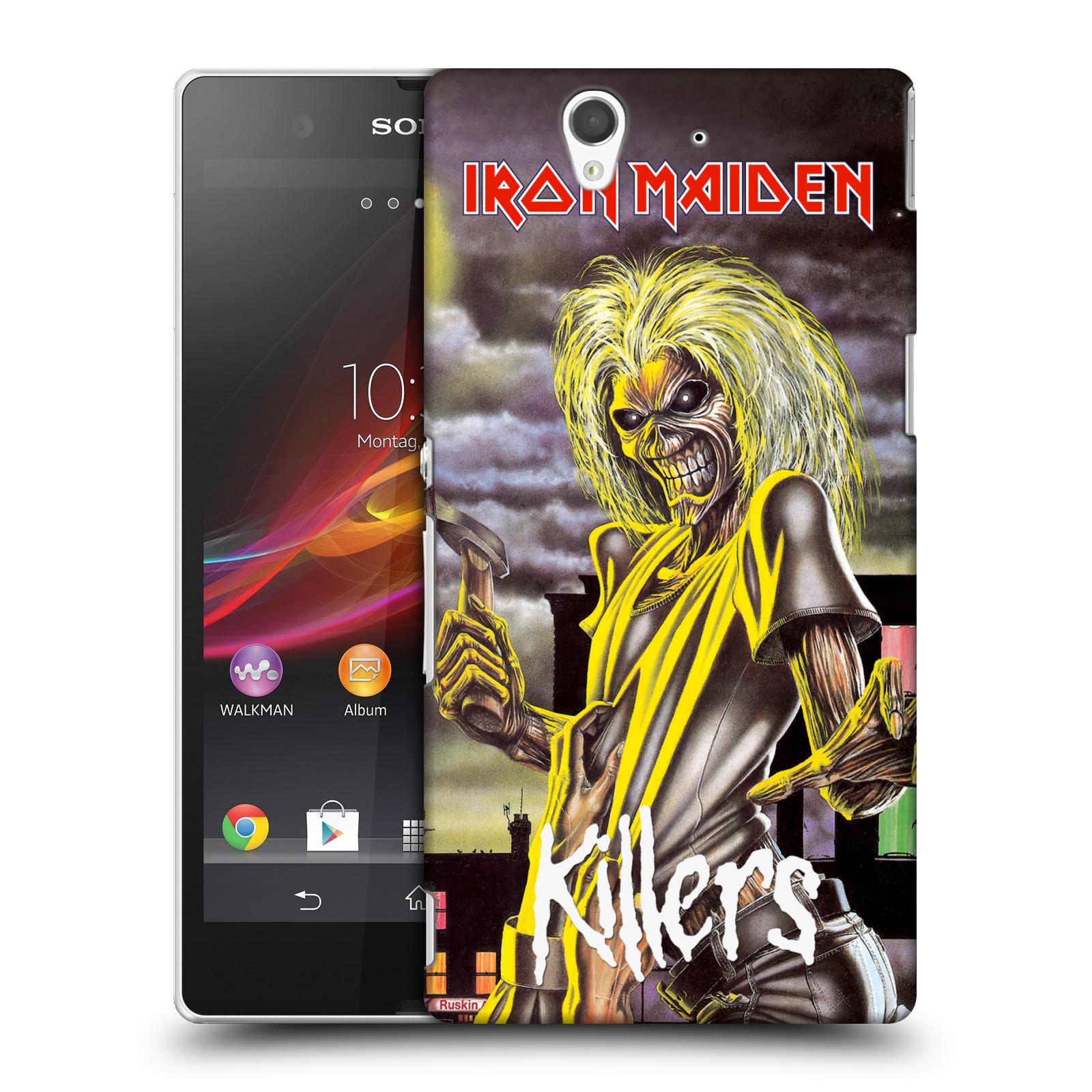 Plastové pouzdro na mobil Sony Xperia Z C6603 HEAD CASE - Iron Maiden - Killers (Plastový kryt či obal na mobilní telefon s licencovaným motivem Iron Maiden Sony Xperia Z)