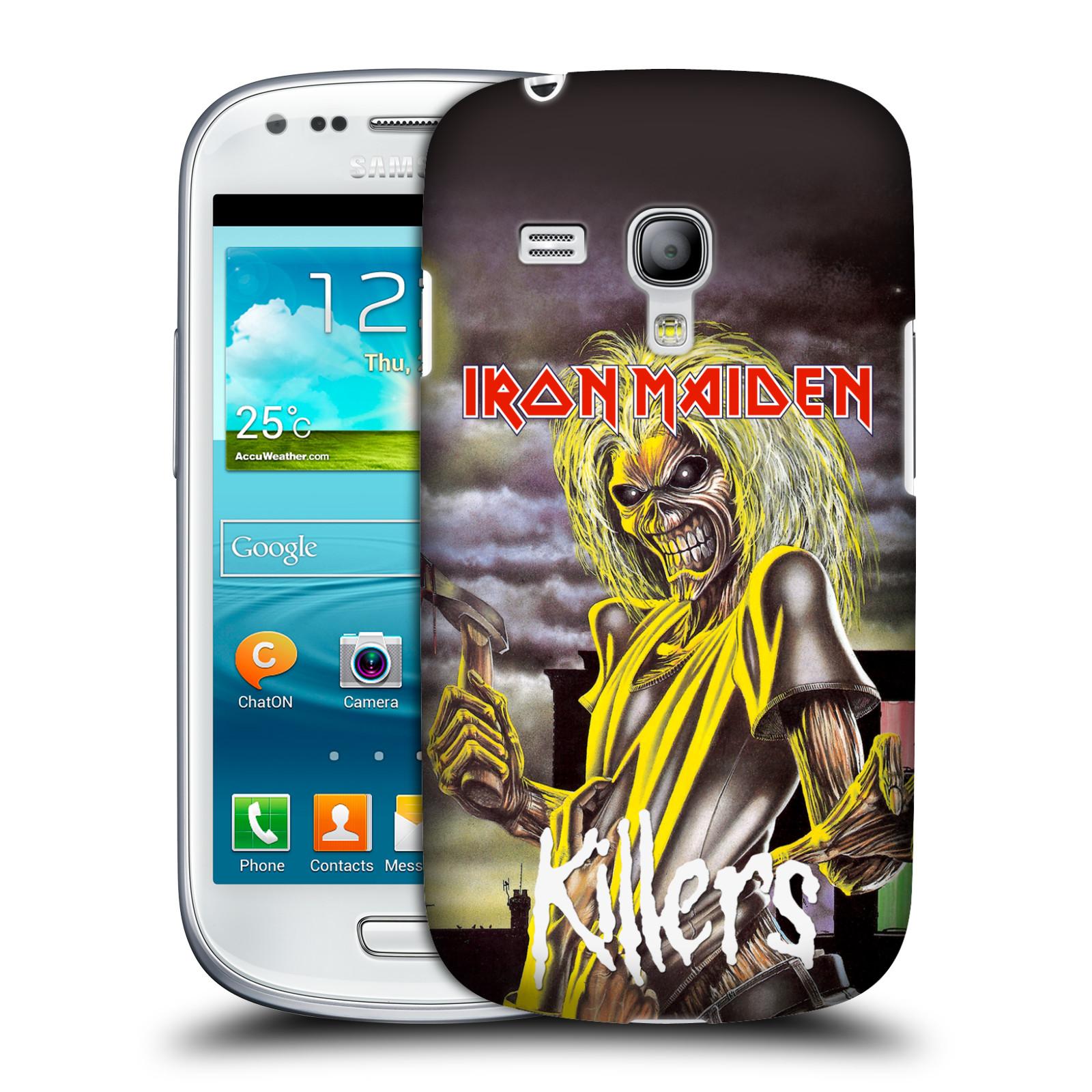 Silikonové pouzdro na mobil Samsung Galaxy S III Mini VE HEAD CASE - Iron Maiden - Killers (Plastový kryt či obal na mobilní telefon s licencovaným motivem Iron Maiden Samsung Galaxy S3 Mini VE GT-i8200)