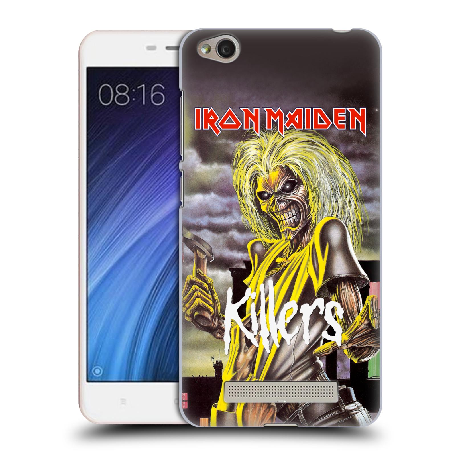 Plastové pouzdro na mobil Xiaomi Redmi 4A HEAD CASE - Iron Maiden - Killers