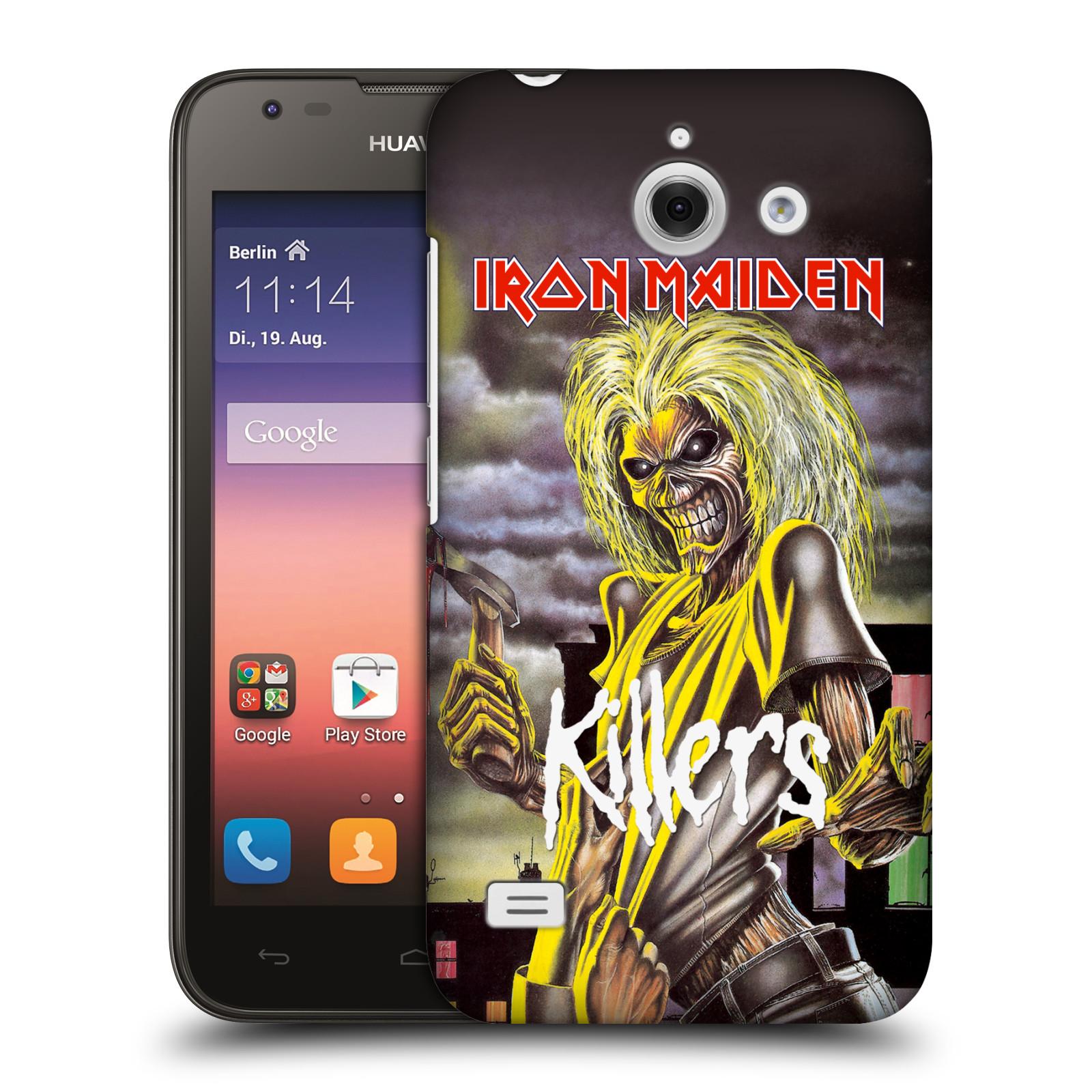 Plastové pouzdro na mobil Huawei Ascend Y550 HEAD CASE - Iron Maiden - Killers (Plastový kryt či obal na mobilní telefon s licencovaným motivem Iron Maiden Huawei Ascend Y550)