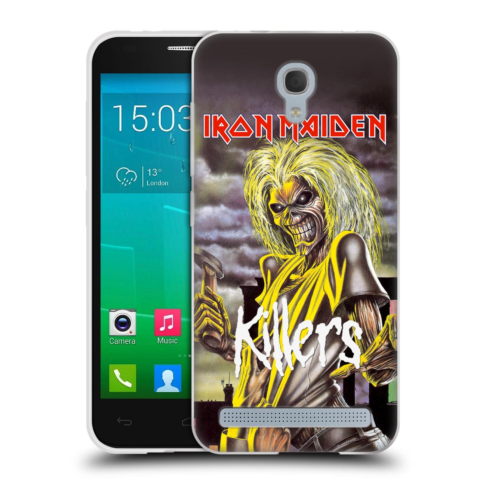 Silikonové pouzdro na mobil Alcatel One Touch Idol 2 Mini S 6036Y HEAD CASE - Iron Maiden - Killers (Silikonový kryt či obal na mobilní telefon s licencovaným motivem Iron Maiden Alcatel Idol 2 Mini S OT-6036Y)