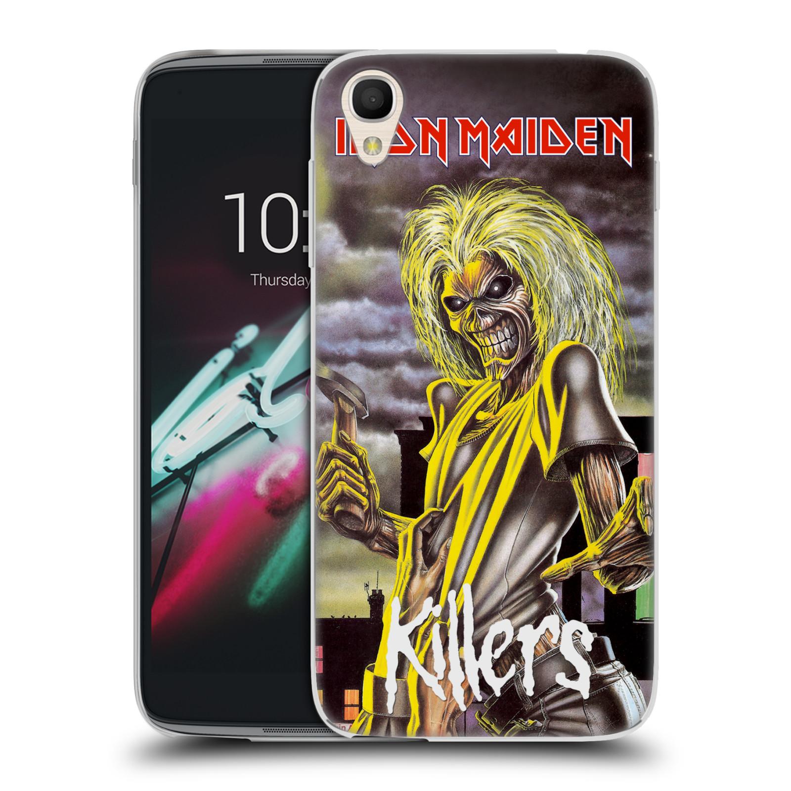"""Silikonové pouzdro na mobil Alcatel One Touch 6039Y Idol 3 HEAD CASE - Iron Maiden - Killers (Silikonový kryt či obal na mobilní telefon s licencovaným motivem Iron Maiden Alcatel One Touch Idol 3 OT-6039Y s 4,7"""" displejem)"""