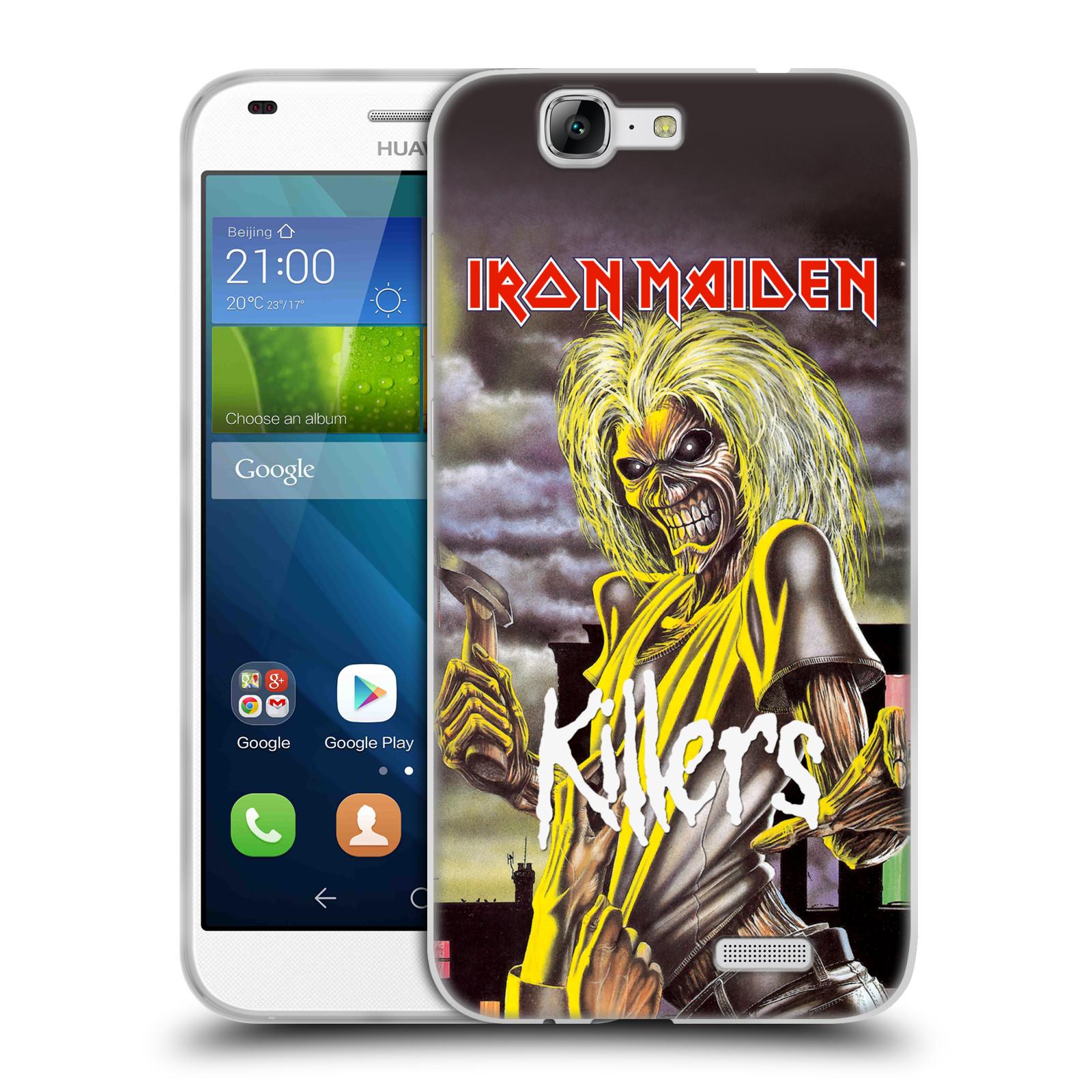 Silikonové pouzdro na mobil Huawei Ascend G7 HEAD CASE - Iron Maiden - Killers (Silikonový kryt či obal na mobilní telefon s licencovaným motivem Iron Maiden Huawei Ascend G7)