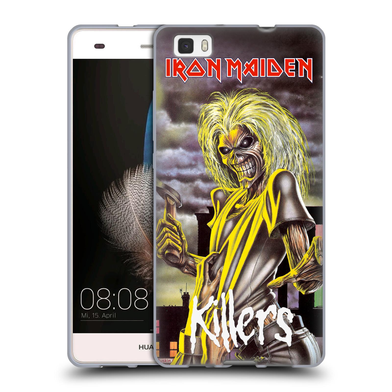 Silikonové pouzdro na mobil Huawei P8 Lite HEAD CASE - Iron Maiden - Killers