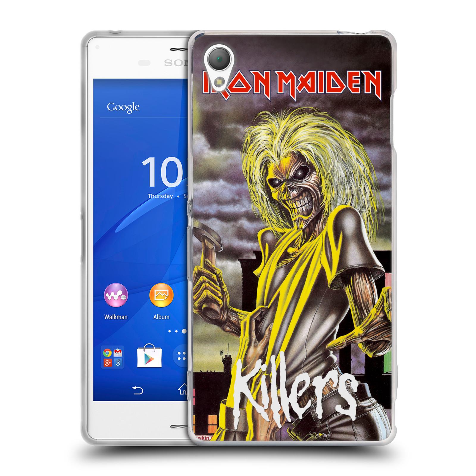 Silikonové pouzdro na mobil Sony Xperia Z3 D6603 HEAD CASE - Iron Maiden - Killers (Silikonový kryt či obal na mobilní telefon s licencovaným motivem Iron Maiden Sony Xperia Z3)
