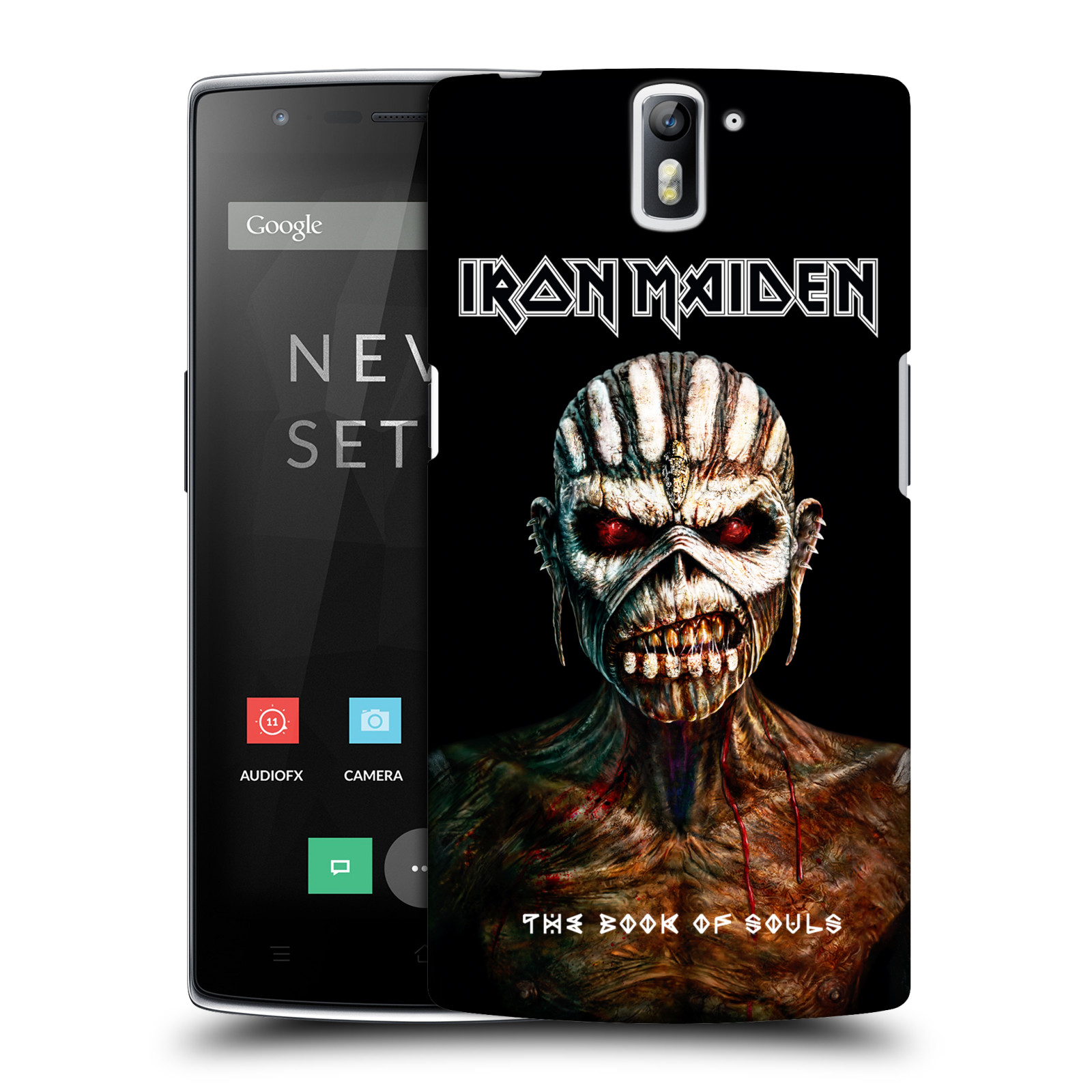 Plastové pouzdro na mobil OnePlus One HEAD CASE - Iron Maiden - The Book Of Souls