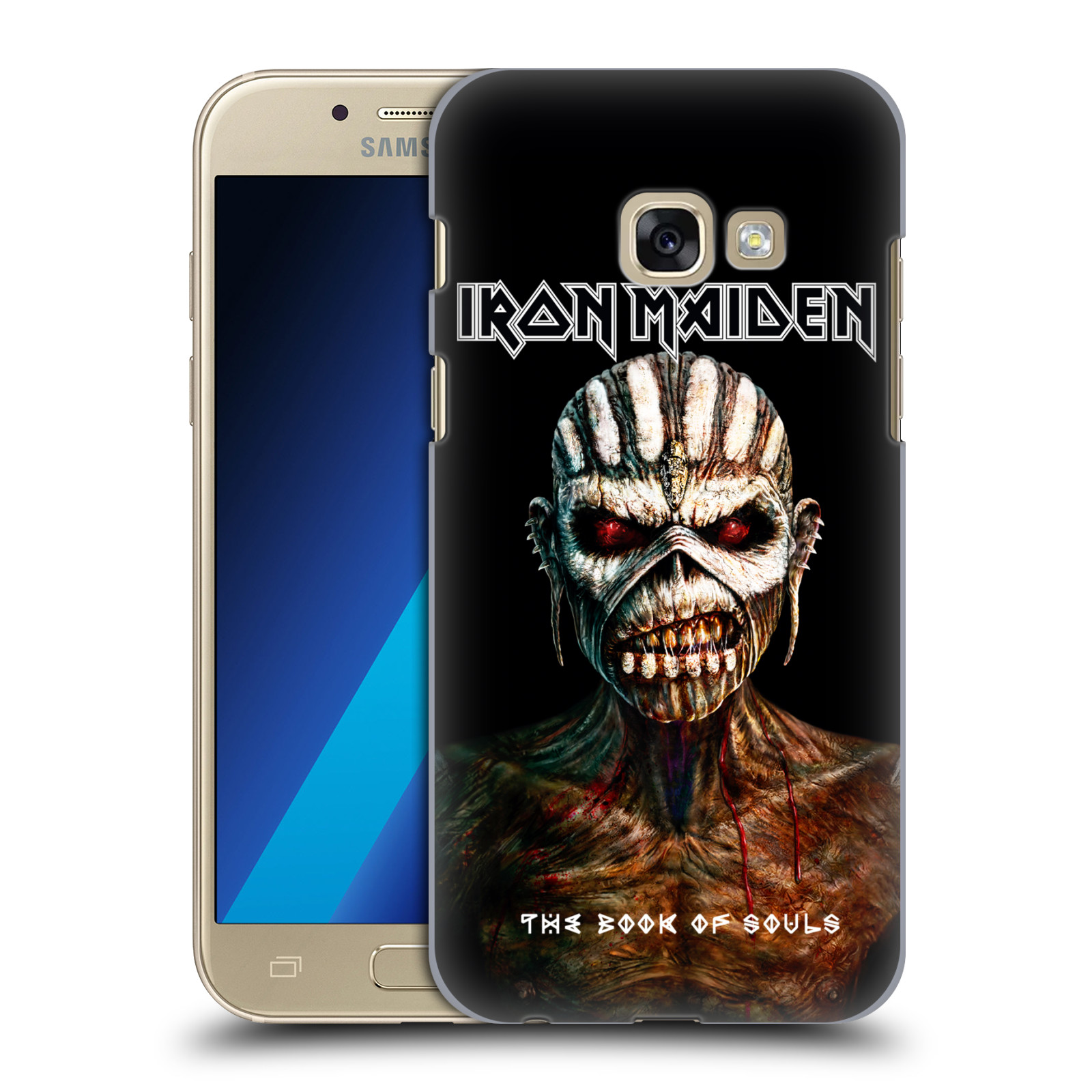 Plastové pouzdro na mobil Samsung Galaxy A3 (2017) HEAD CASE - Iron Maiden - The Book Of Souls