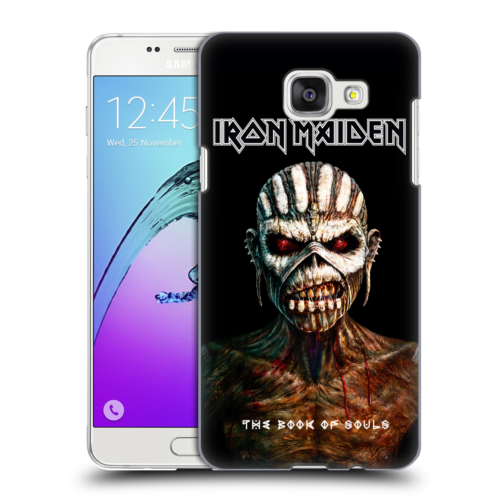 Plastové pouzdro na mobil Samsung Galaxy A5 (2016) HEAD CASE - Iron Maiden - The Book Of Souls