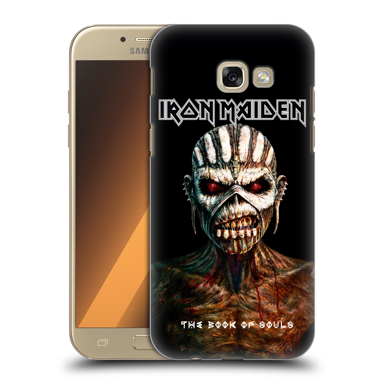 Plastové pouzdro na mobil Samsung Galaxy A5 (2017) HEAD CASE - Iron Maiden - The Book Of Souls
