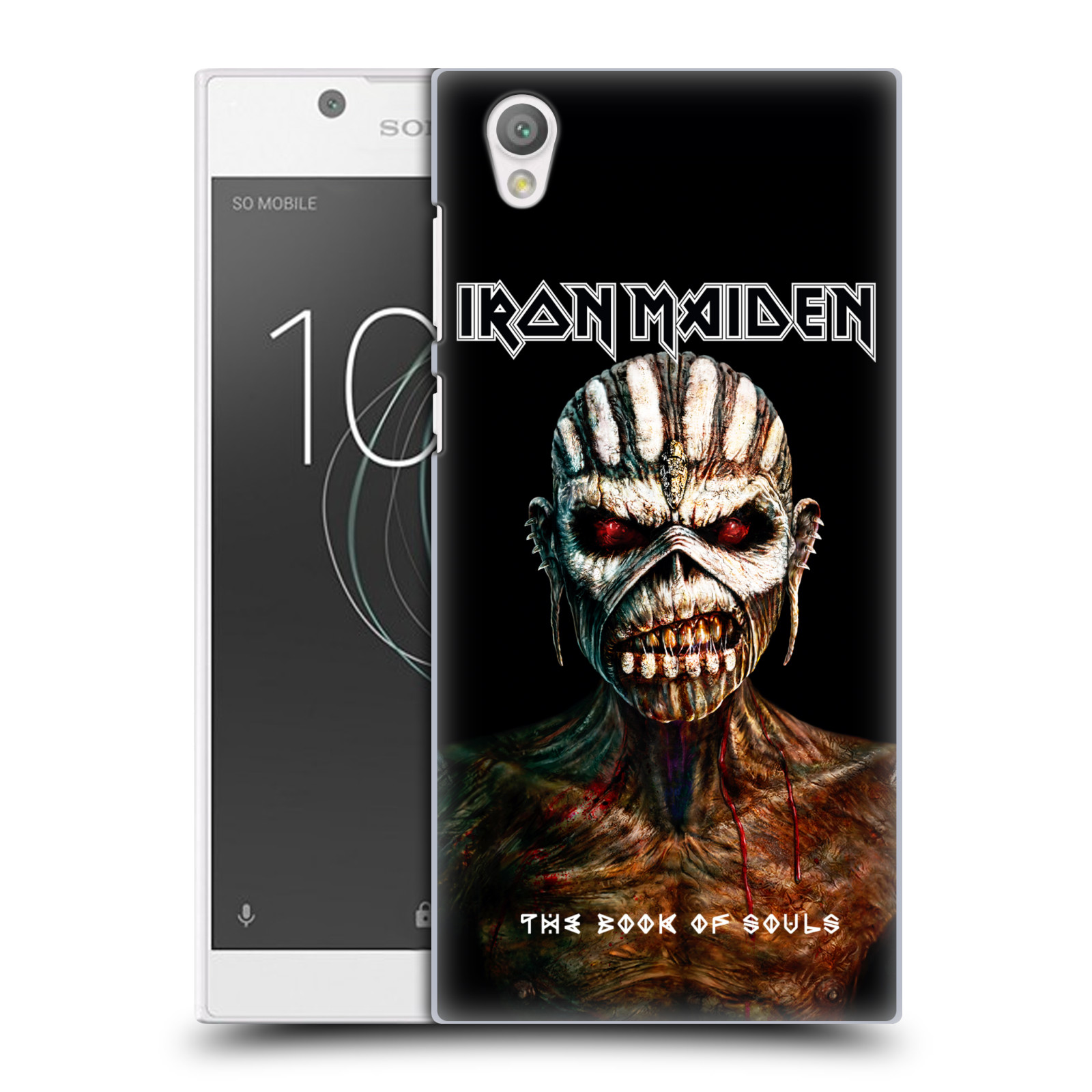 Plastové pouzdro na mobil Sony Xperia L1 - Head Case - Iron Maiden - The Book Of Souls