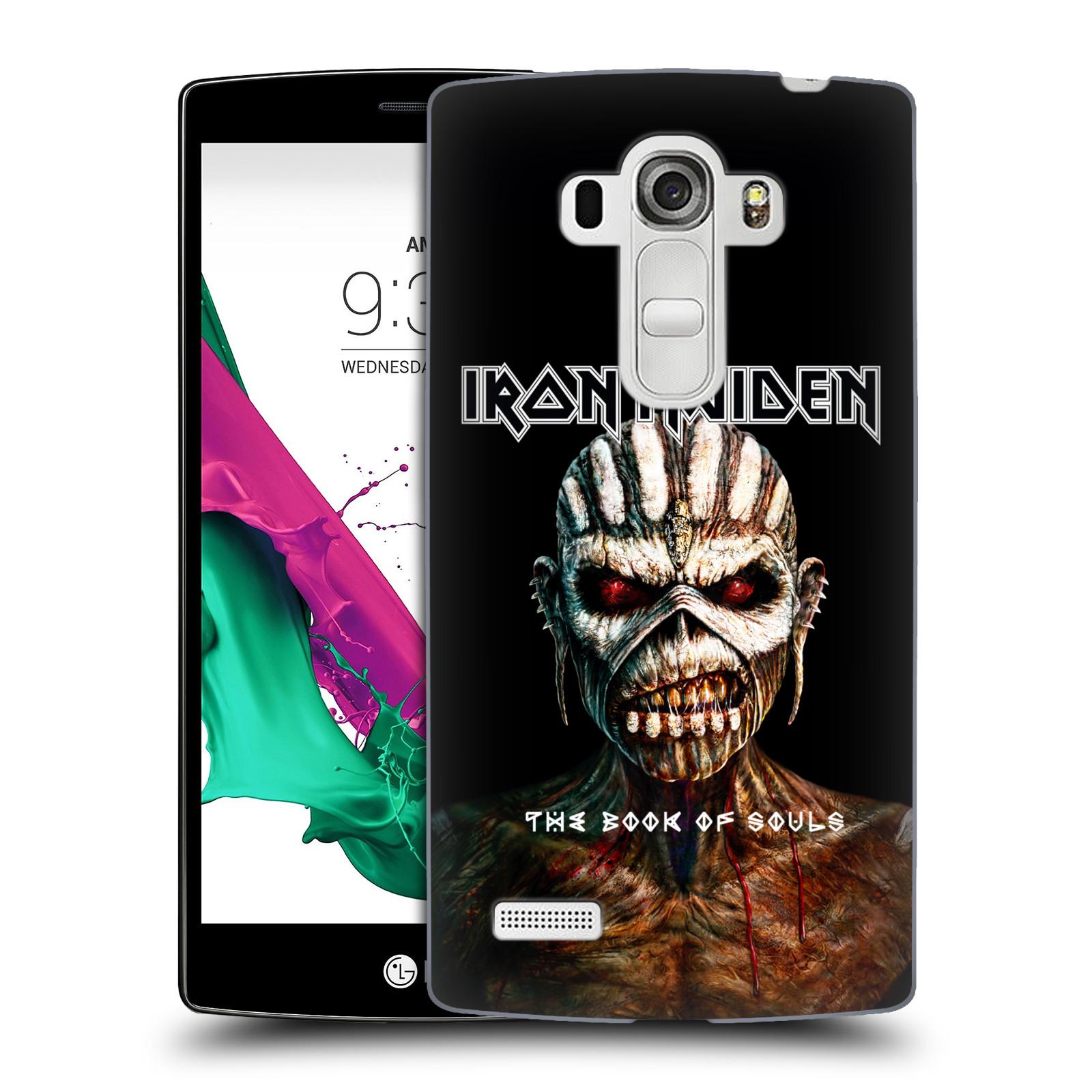 Plastové pouzdro na mobil LG G4s HEAD CASE - Iron Maiden - The Book Of Souls