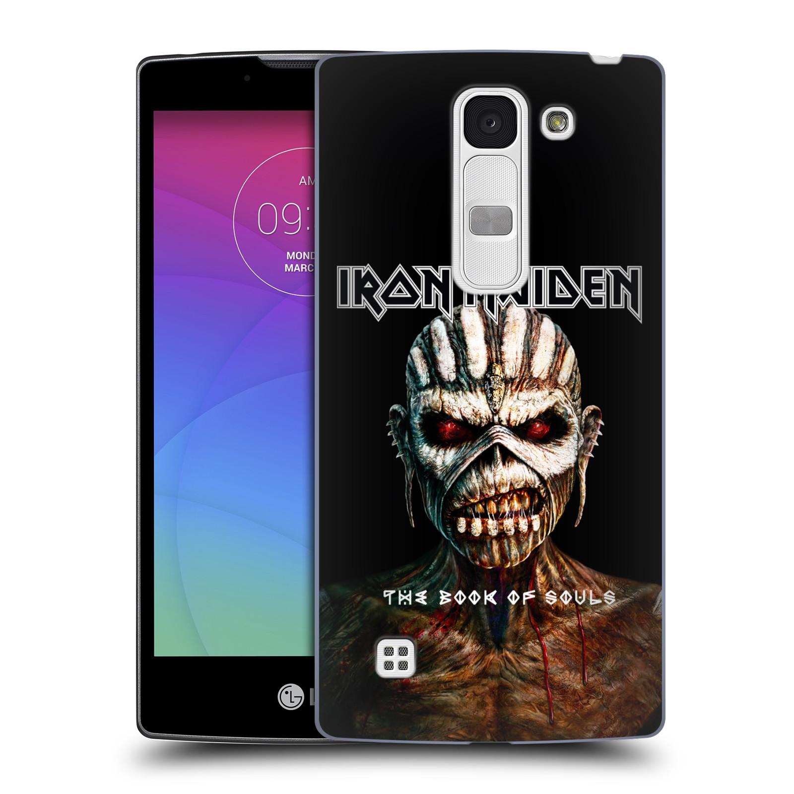 Plastové pouzdro na mobil LG Spirit LTE HEAD CASE - Iron Maiden - The Book Of Souls (Plastový kryt či obal na mobilní telefon s licencovaným motivem Iron Maiden LG Spirit H420 a LG Spirit LTE H440N)