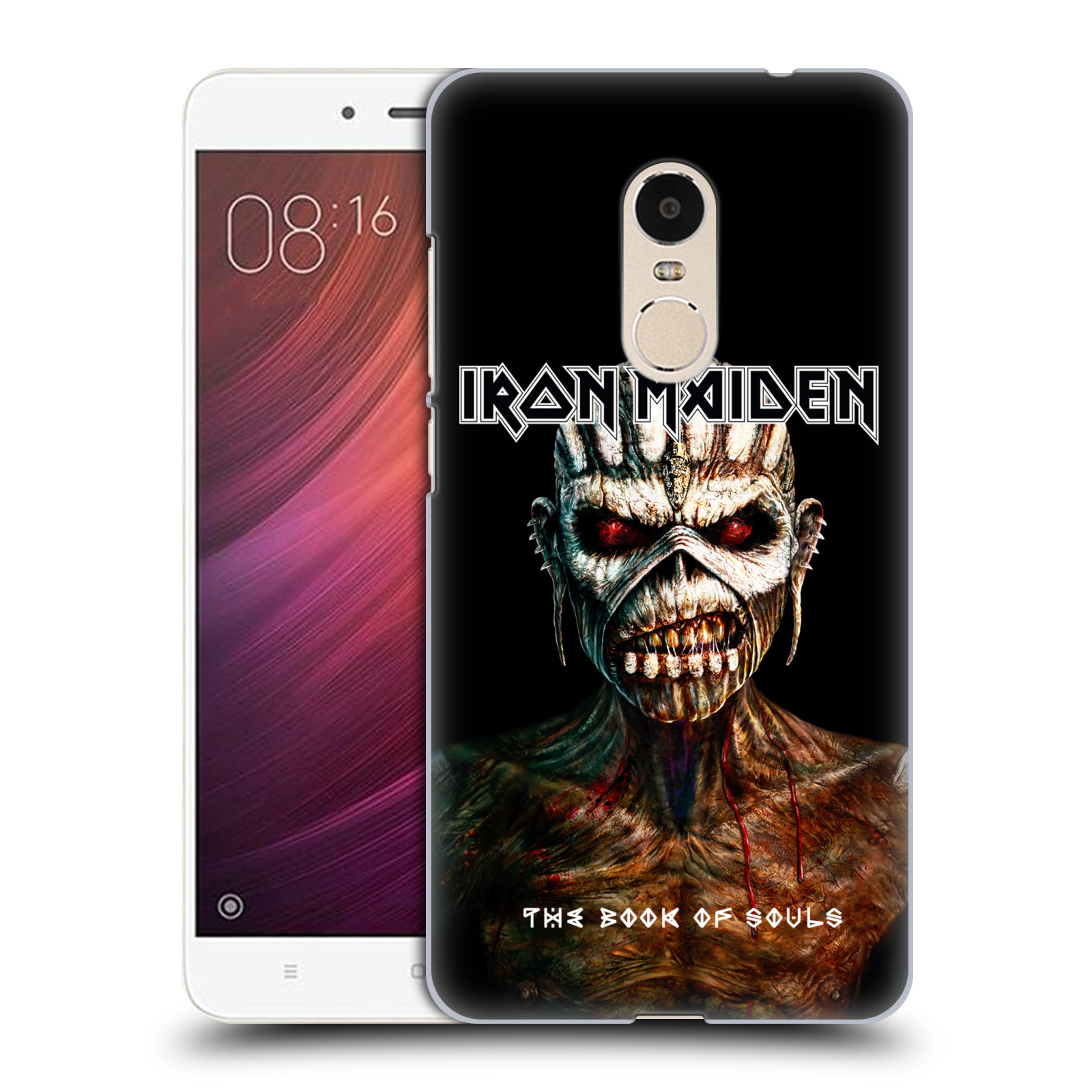 Plastové pouzdro na mobil Xiaomi Redmi Note 4 - Head Case - Iron Maiden - The Book Of Souls