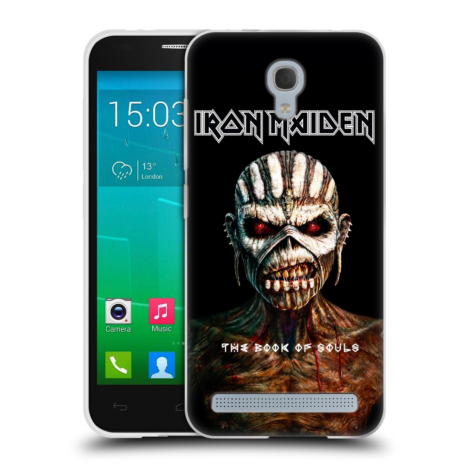 Silikonové pouzdro na mobil Alcatel One Touch Idol 2 Mini S 6036Y HEAD CASE - Iron Maiden - The Book Of Souls (Silikonový kryt či obal na mobilní telefon s licencovaným motivem Iron Maiden Alcatel Idol 2 Mini S OT-6036Y)
