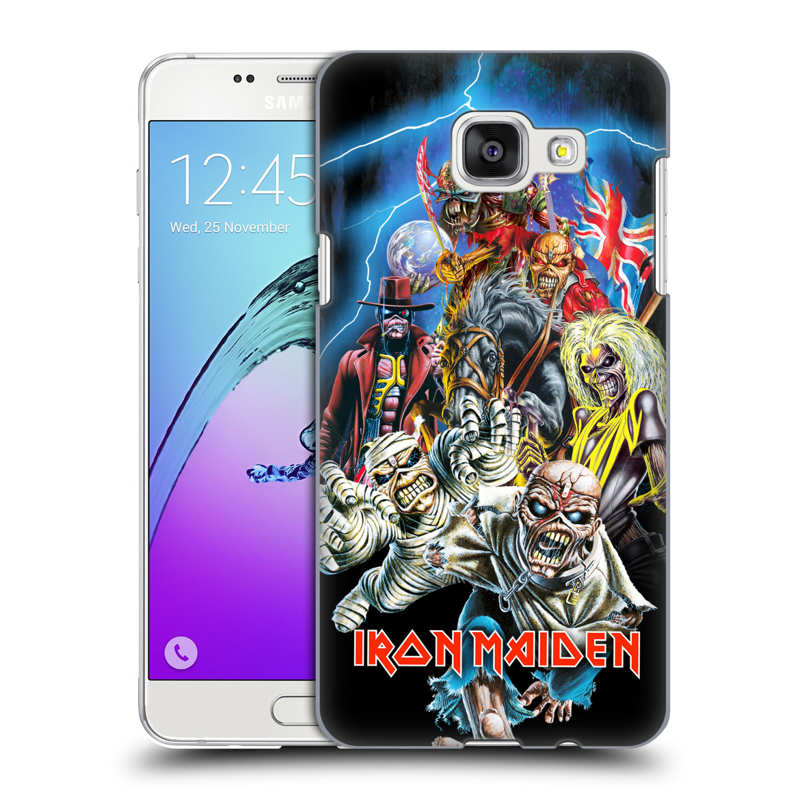 Plastové pouzdro na mobil Samsung Galaxy A5 (2016) HEAD CASE - Iron Maiden - Best Of Beast