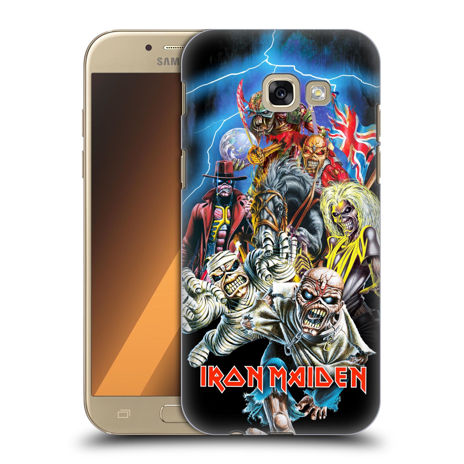 Plastové pouzdro na mobil Samsung Galaxy A5 (2017) HEAD CASE - Iron Maiden - Best Of Beast
