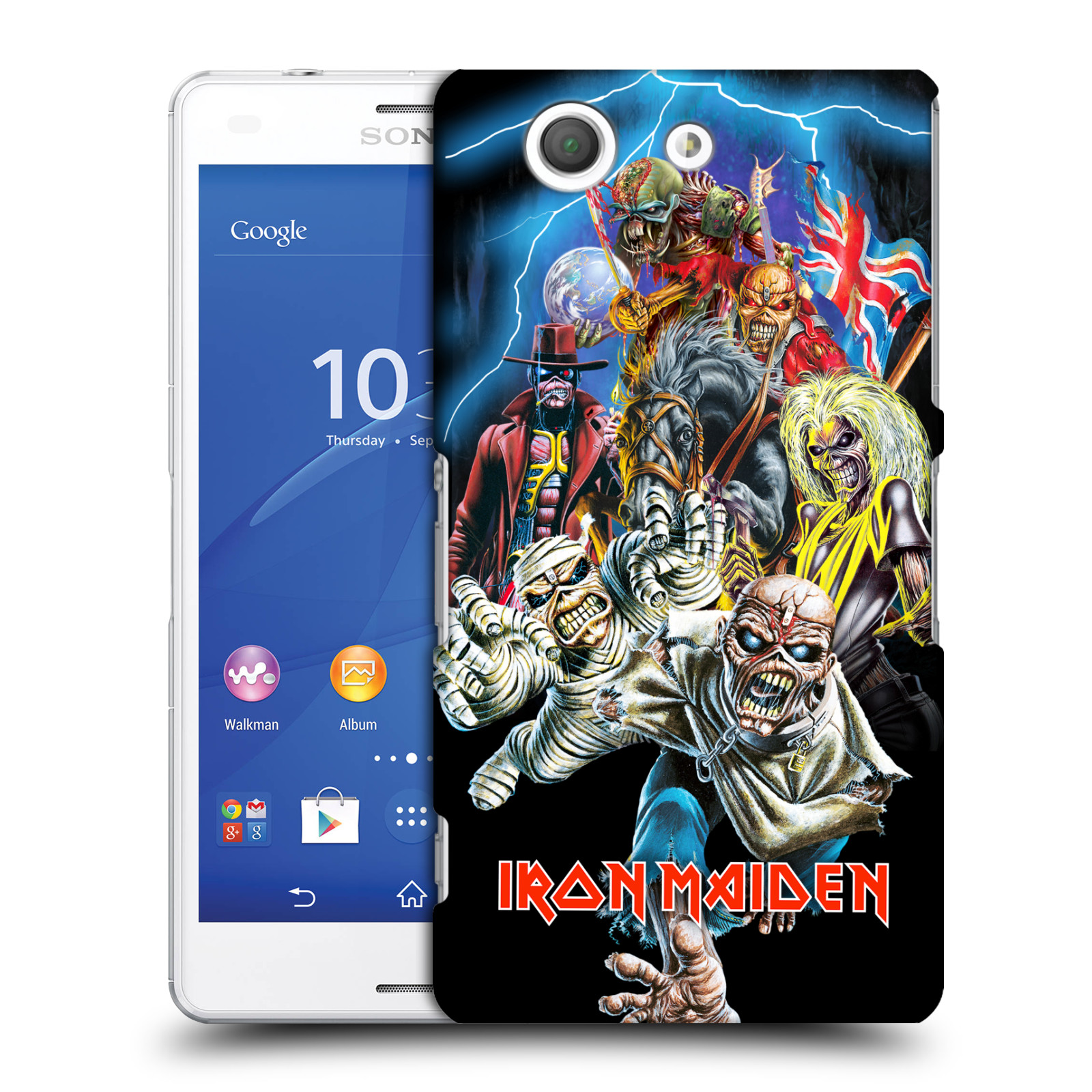Plastové pouzdro na mobil Sony Xperia Z3 Compact D5803 HEAD CASE - Iron Maiden - Best Of Beast