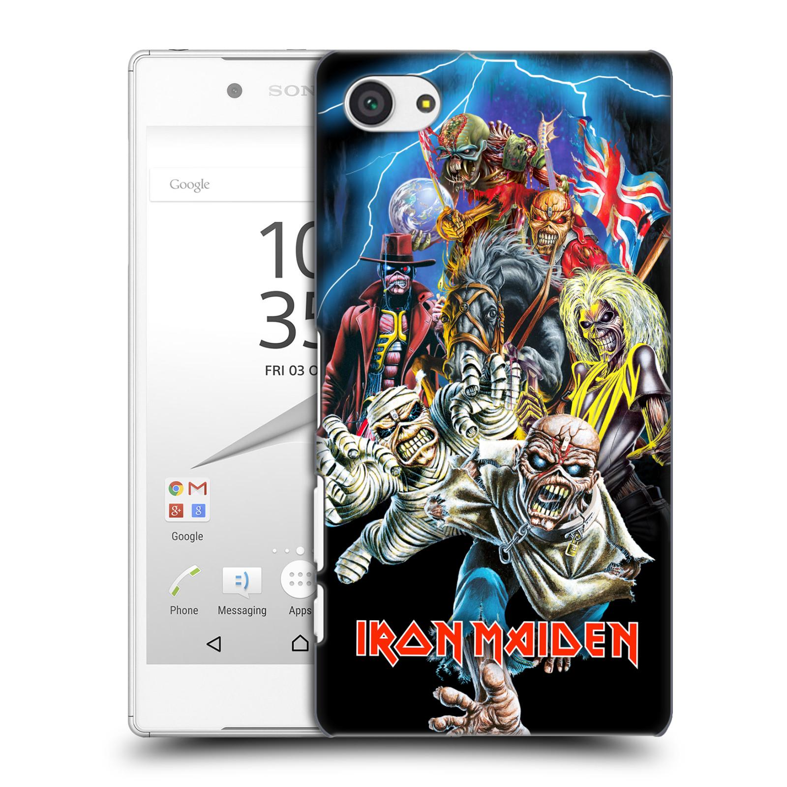 Plastové pouzdro na mobil Sony Xperia Z5 Compact HEAD CASE - Iron Maiden - Best Of Beast