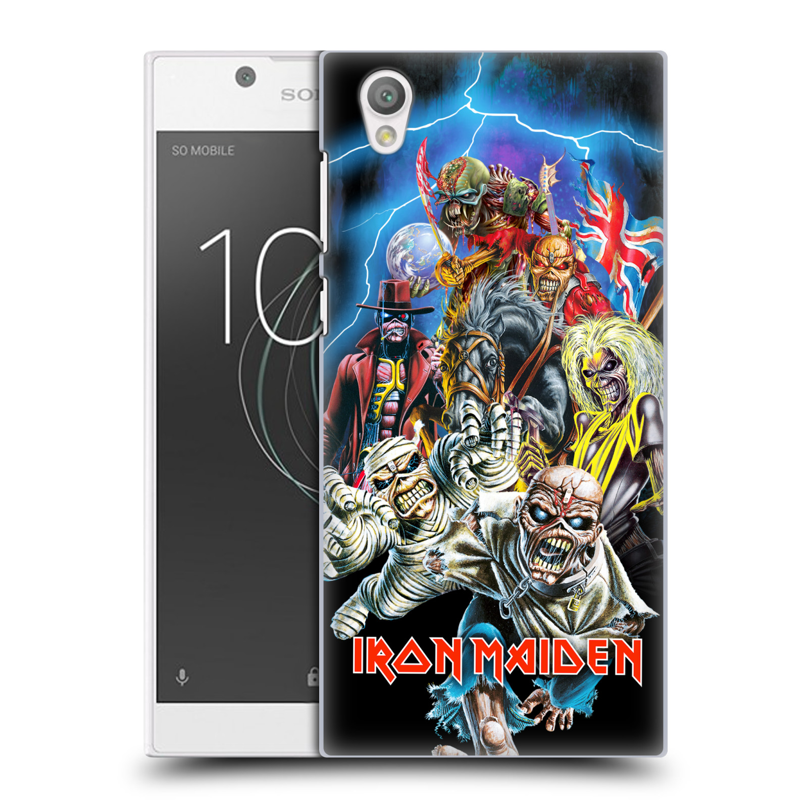 Plastové pouzdro na mobil Sony Xperia L1 - Head Case - Iron Maiden - Best Of Beast