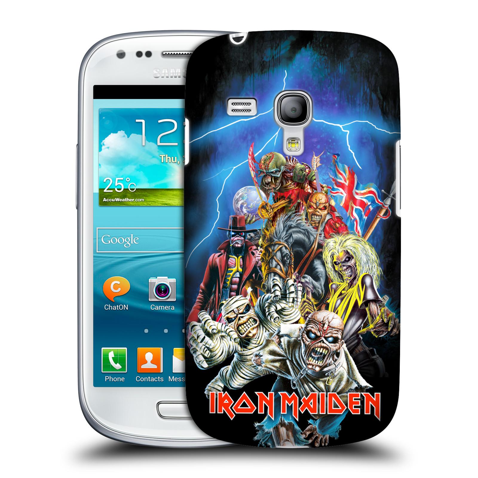 Silikonové pouzdro na mobil Samsung Galaxy S III Mini VE HEAD CASE - Iron Maiden - Best Of Beast (Plastový kryt či obal na mobilní telefon s licencovaným motivem Iron Maiden Samsung Galaxy S3 Mini VE GT-i8200)