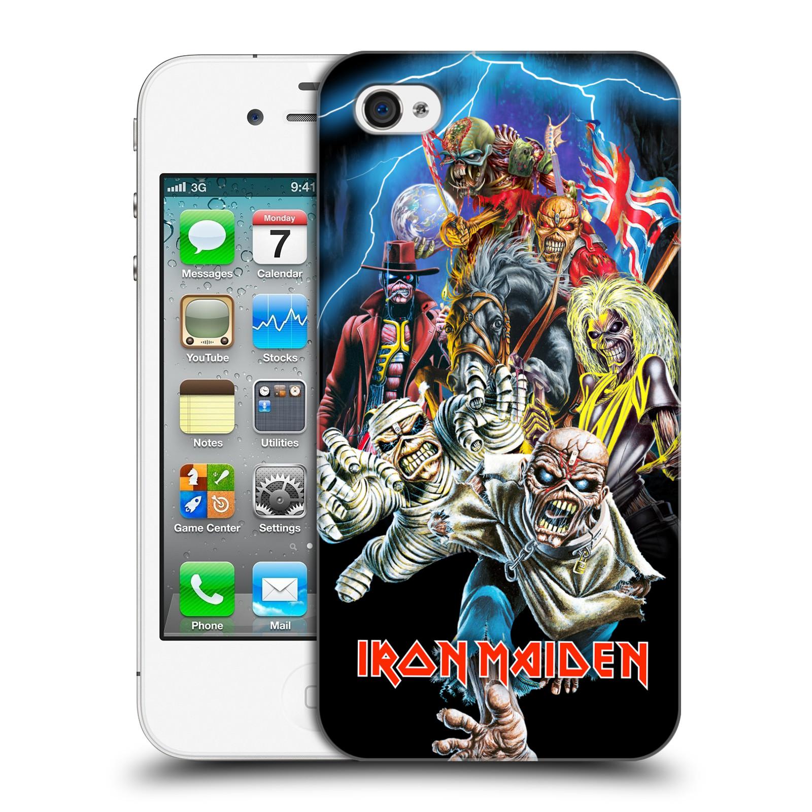 Plastové pouzdro na mobil Apple iPhone 4 a 4S HEAD CASE - Iron Maiden - Best Of Beast (Plastový kryt či obal na mobilní telefon s licencovaným motivem Iron Maiden Apple iPhone 4 a 4S)